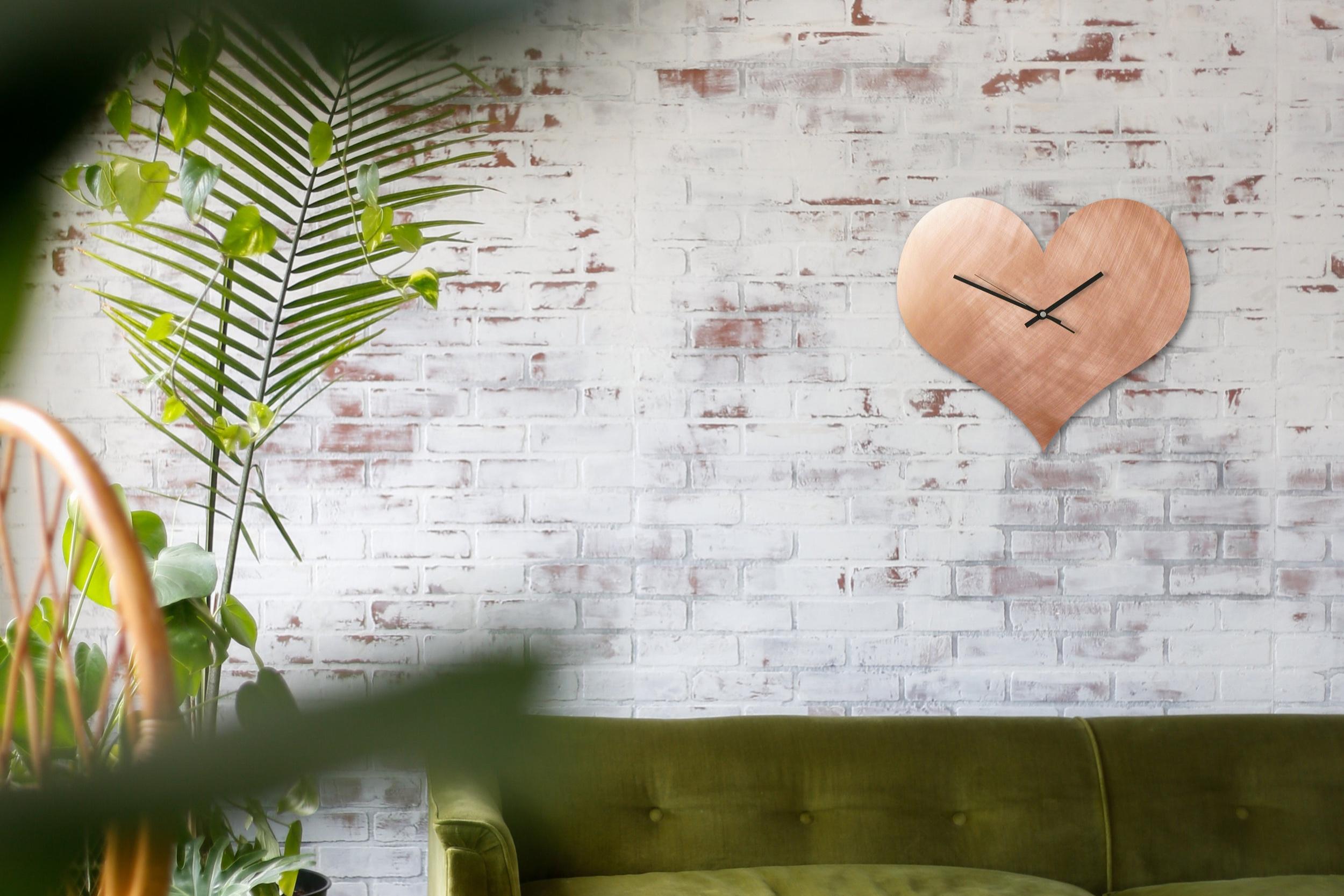 Herz+Kupfer+Uhr+Brick+Wall+Sofa+gr%C3%BCn.jpg