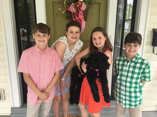 Mya (Guardian Bears Carolina Queen) inherited lots of new siblings!