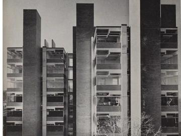 1961 construction vitrines. Photo: Malcom Smith