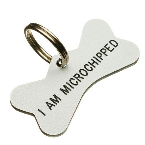 Writing that your dogs is microchipped can be useful but the most precious piece of information is 'neutered'. As dogs are often stolen for breeding, knowing that they are neutered can be a powerful  theft deterrent .