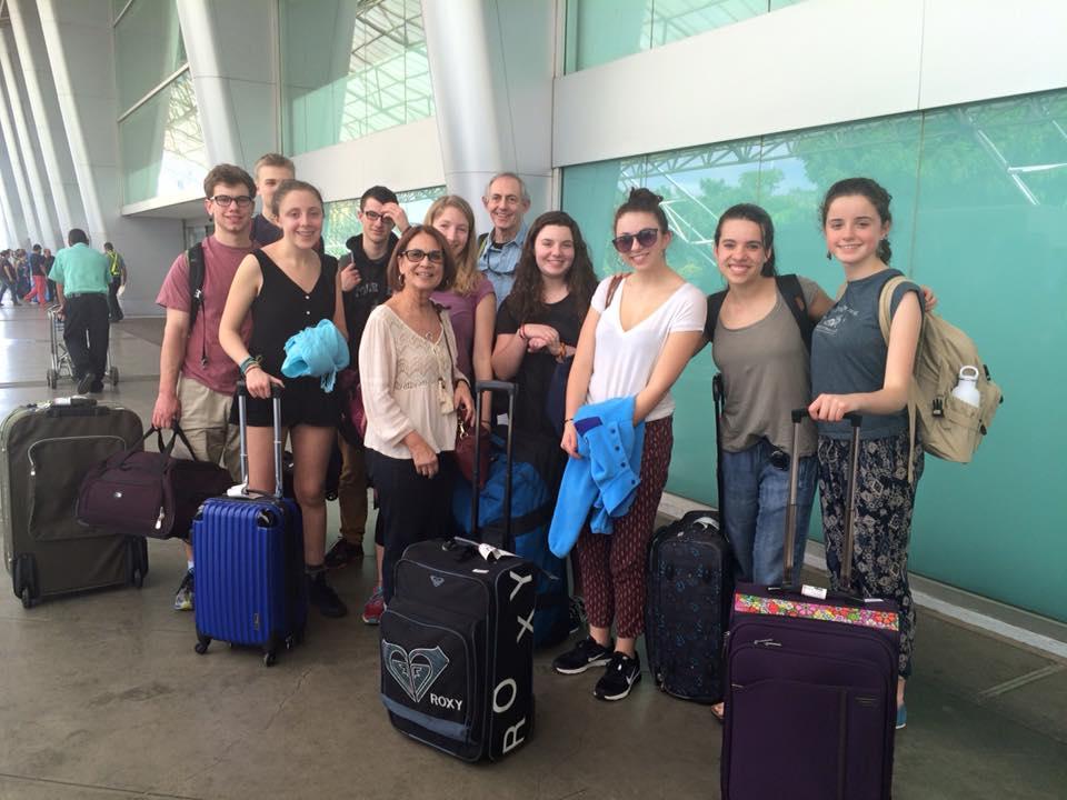 Devon's group arrives in Managua.jpg