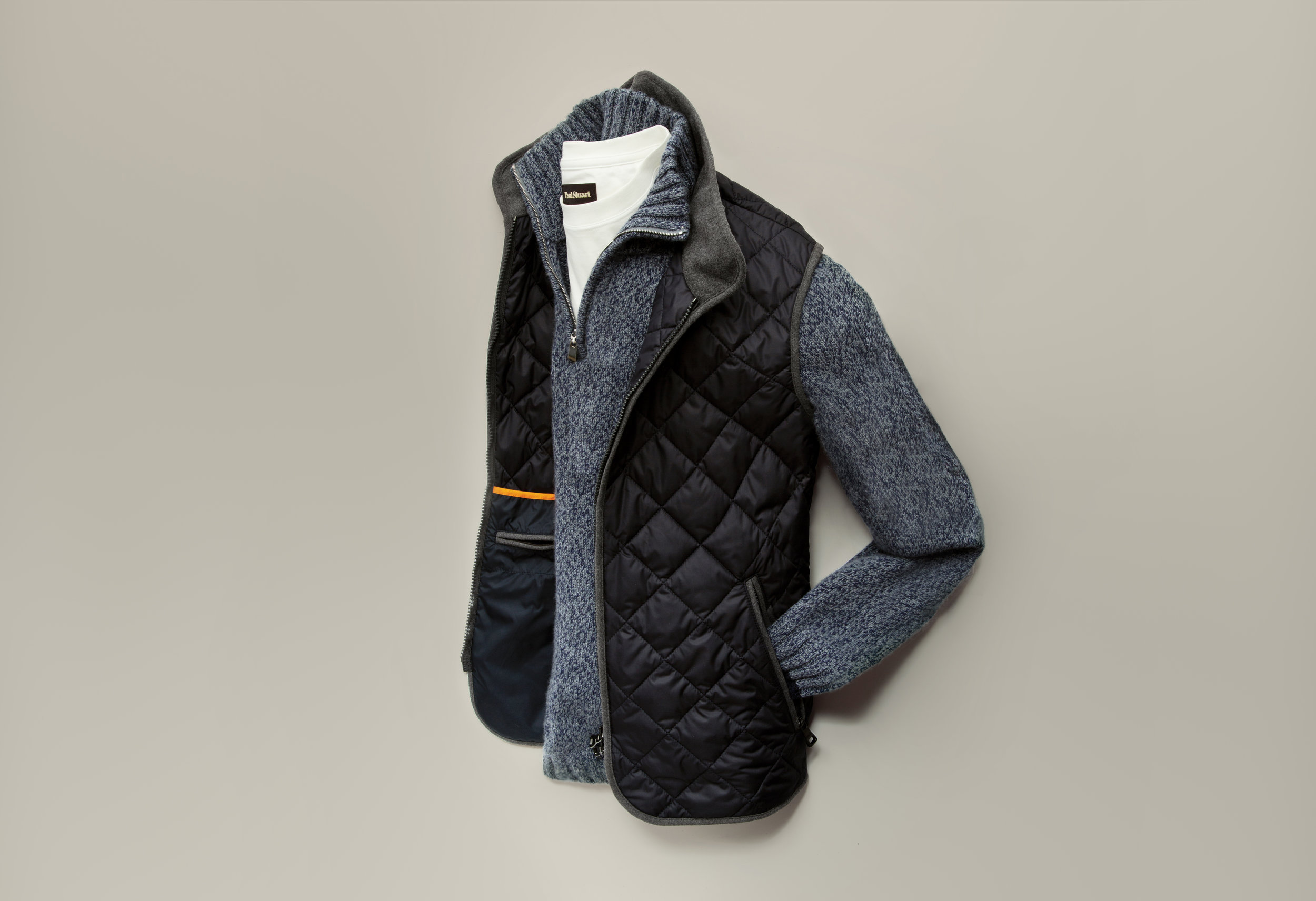 Outerwear Vest Lay-down