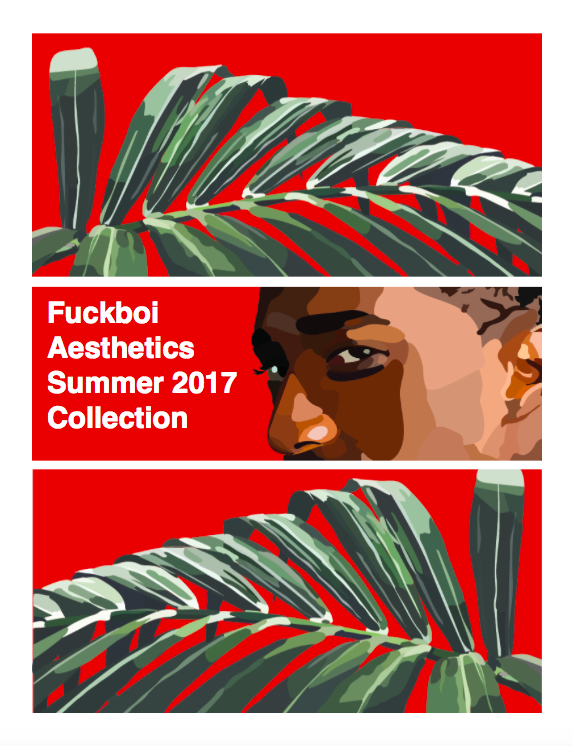 This Zine is a pre-quel to my other work, Softboi Aesthetics as a way to continue the series and kind give a basis for what exactly a Fuckboi is.