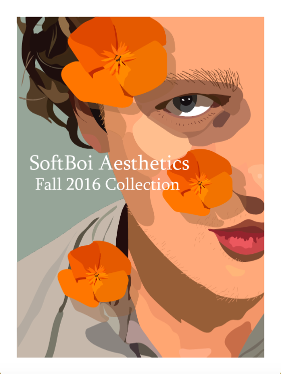 A zine I made focusing on an aspect of youth culture. What is a Softboi? Scroll and find out!
