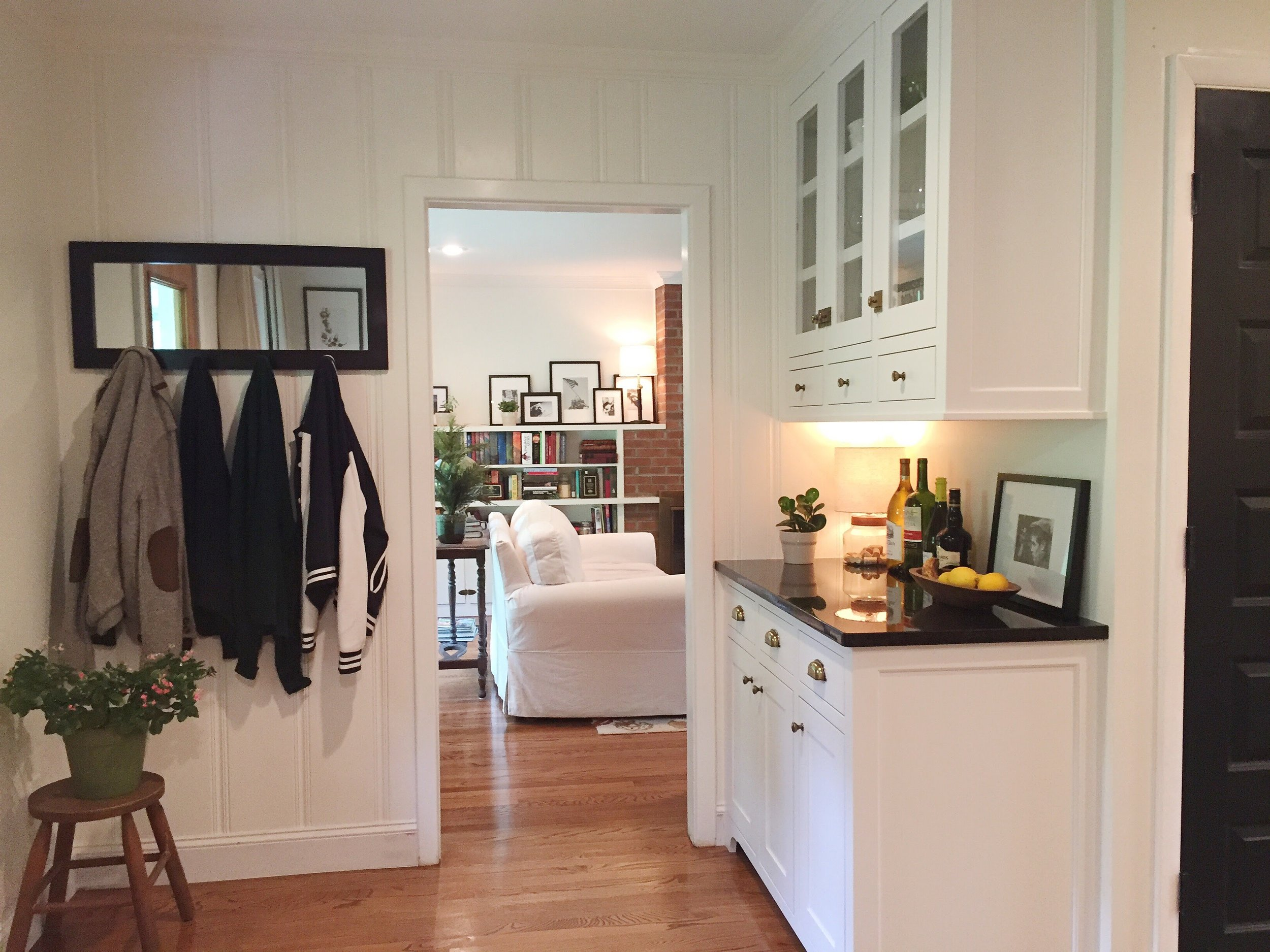 Kitchen/laundry nook after
