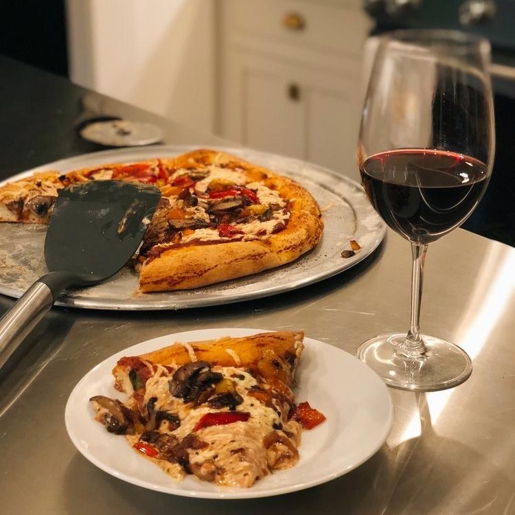 Homemade Vegan Pizza -