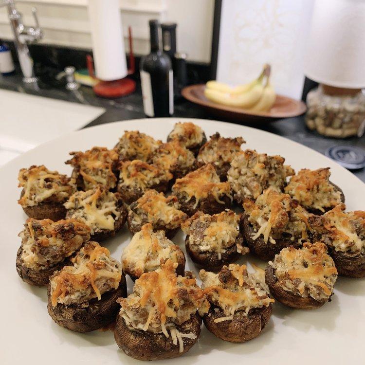 Stuffed Mushrooms -