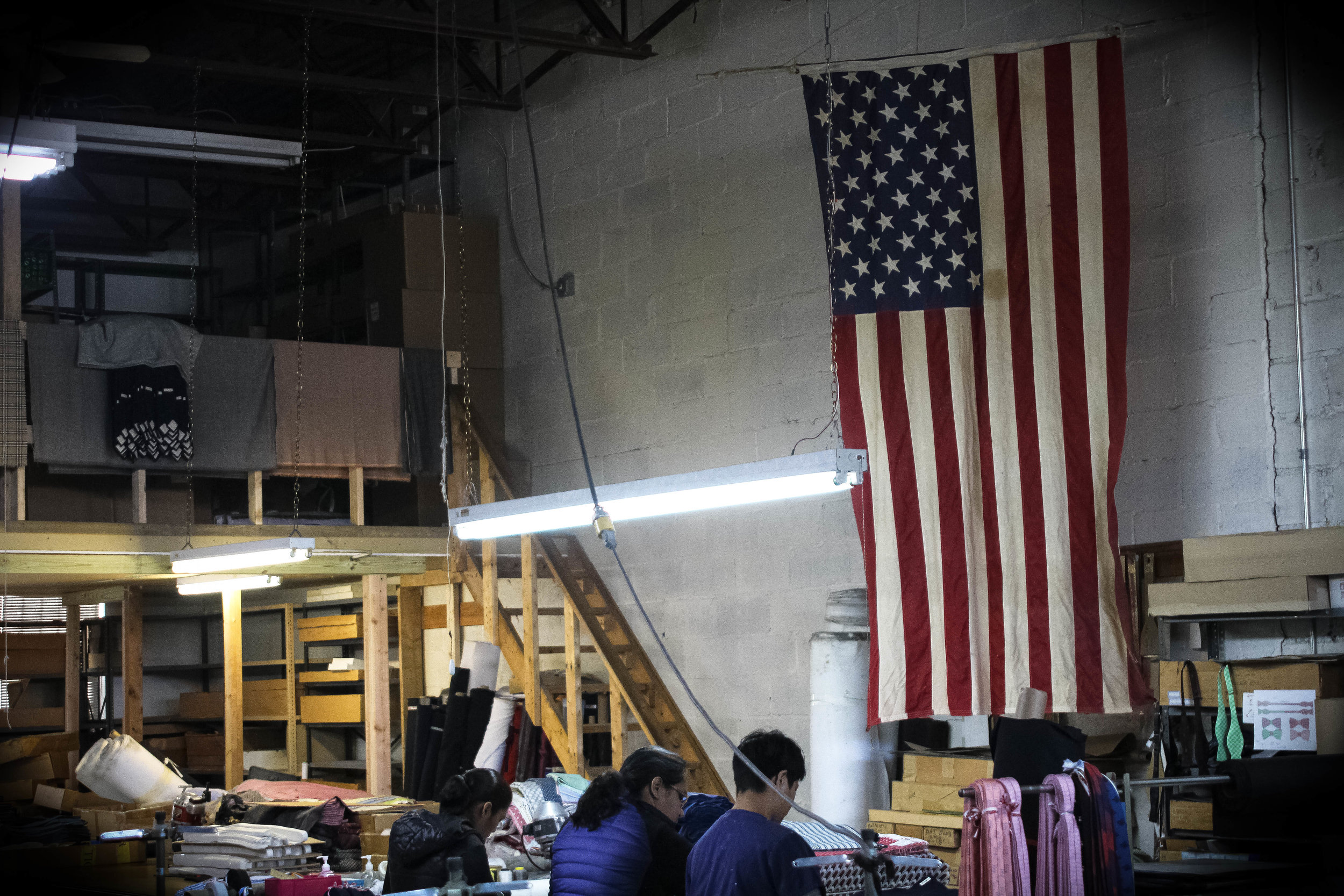 A picture of our first factory in New York City. Due to dishonest management, the factory actually ended up losing us about $2,500 when we didn't have $2,500 to lose. I remember a few long, frustrating nights and phone calls dealing with this situation. In retrospect I realize that if only I had done a little more due diligence, I may have been able to avoid this challenge all together. Sir Wylde's current factories are wonderful and are located only a few minutes away from this less-than wonderful one.