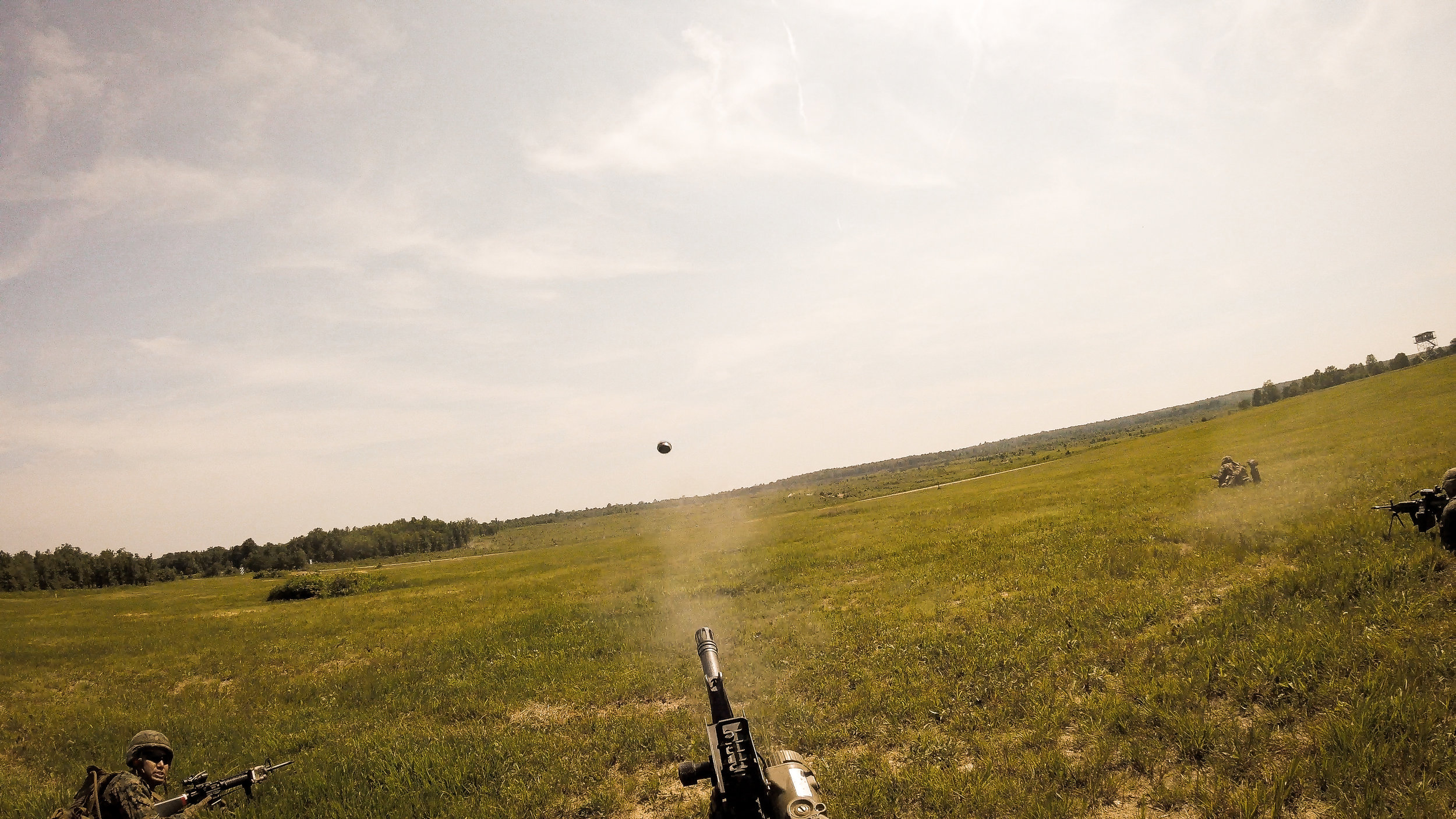I'm pretty proud of this photo from a TBS live fire range that I took off my GoPro. The military training that I had the opportunity to experience this past year was beyond anything I could have ever imagined.