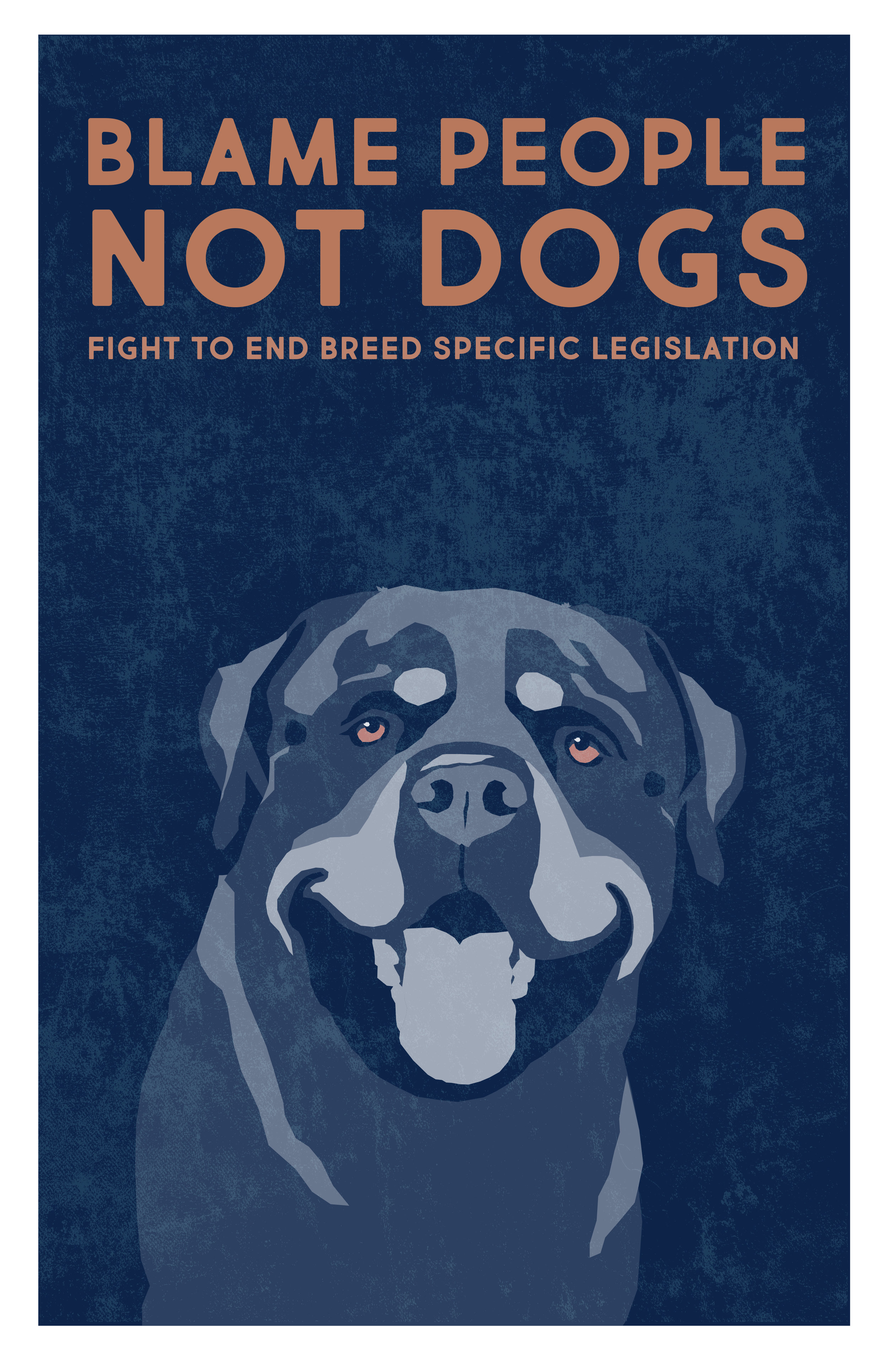 """""""Blame People Not Dogs"""""""