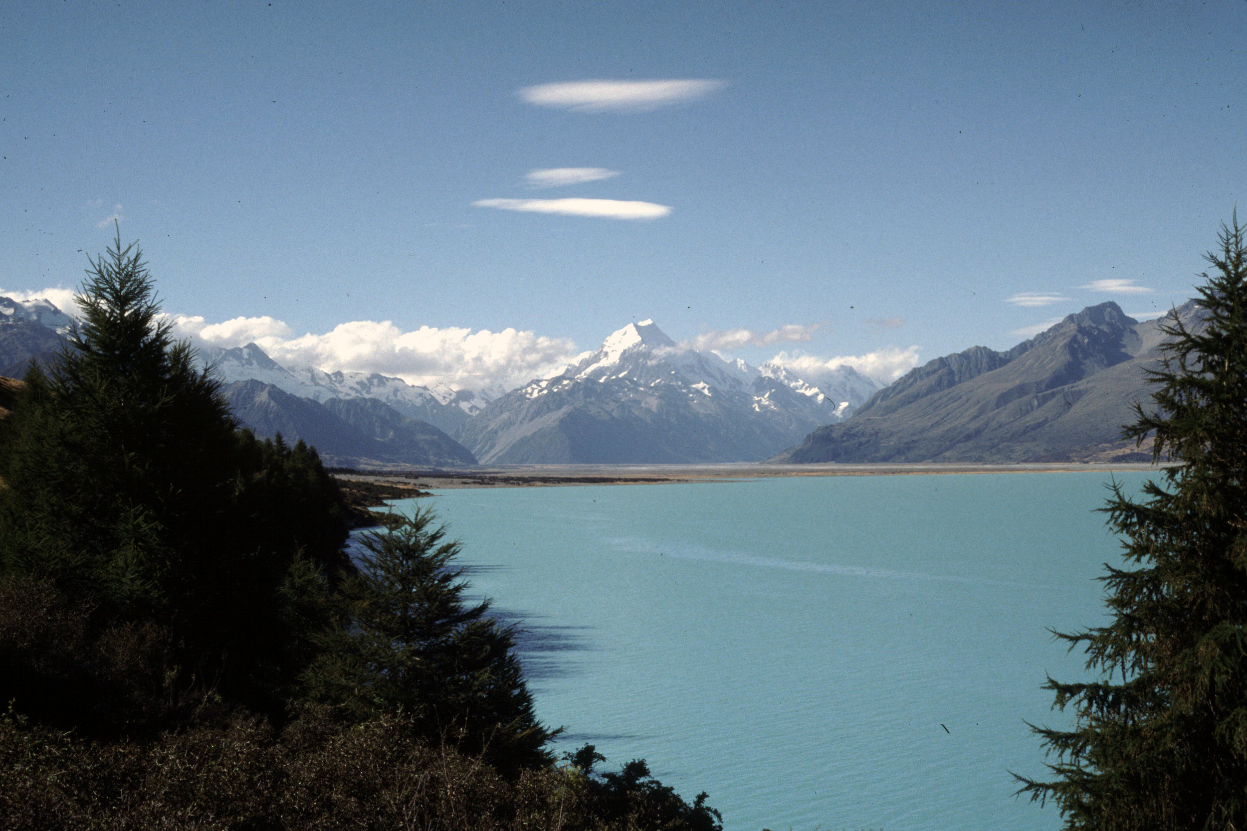 Mount Cook viewed from Lake Pukaki.