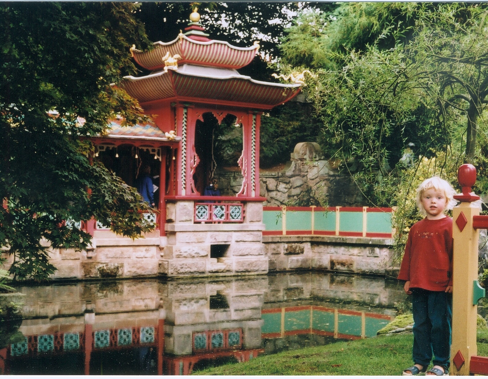 Freya at Biddulph Grange