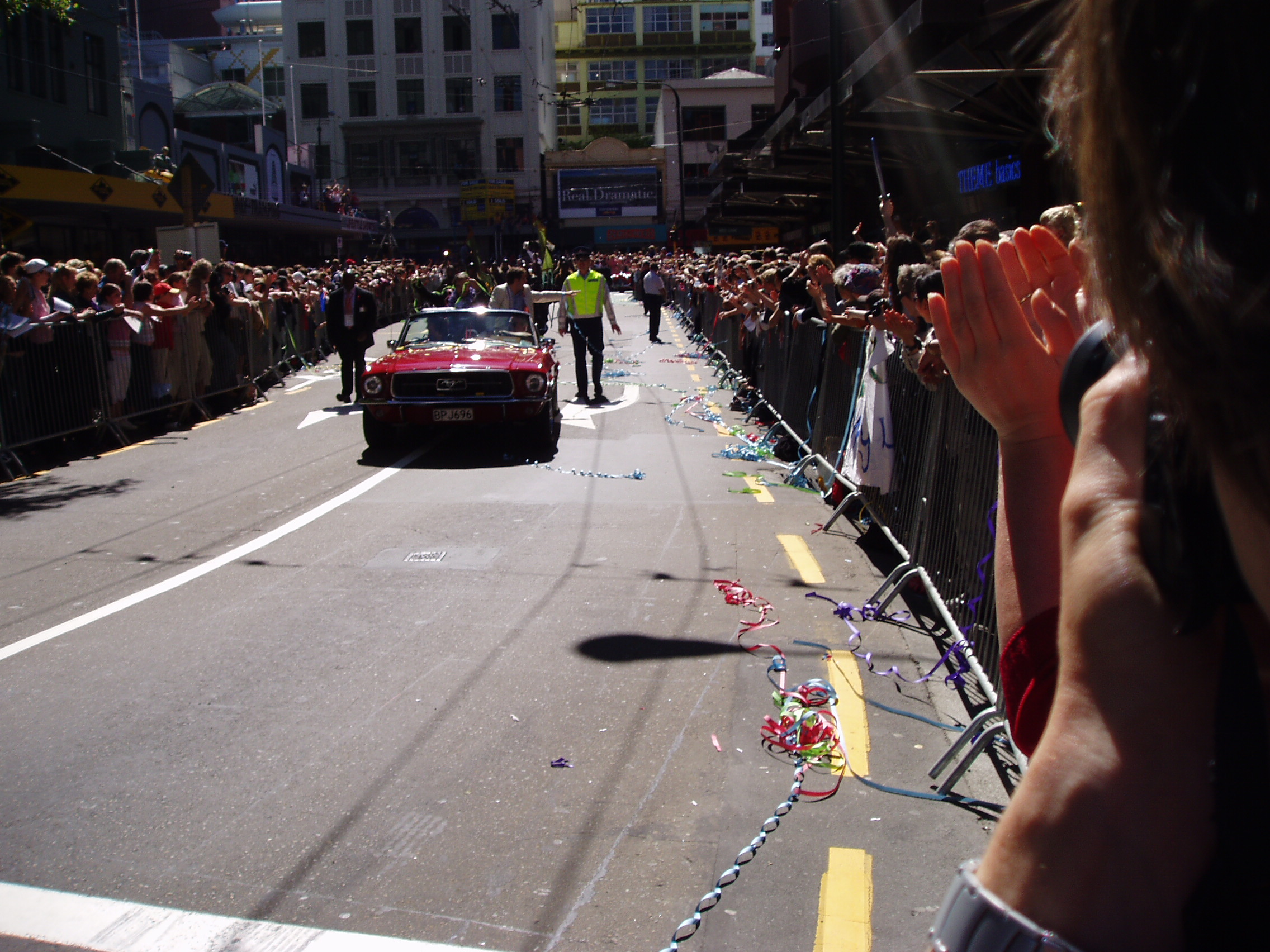 The parade, Wellington.