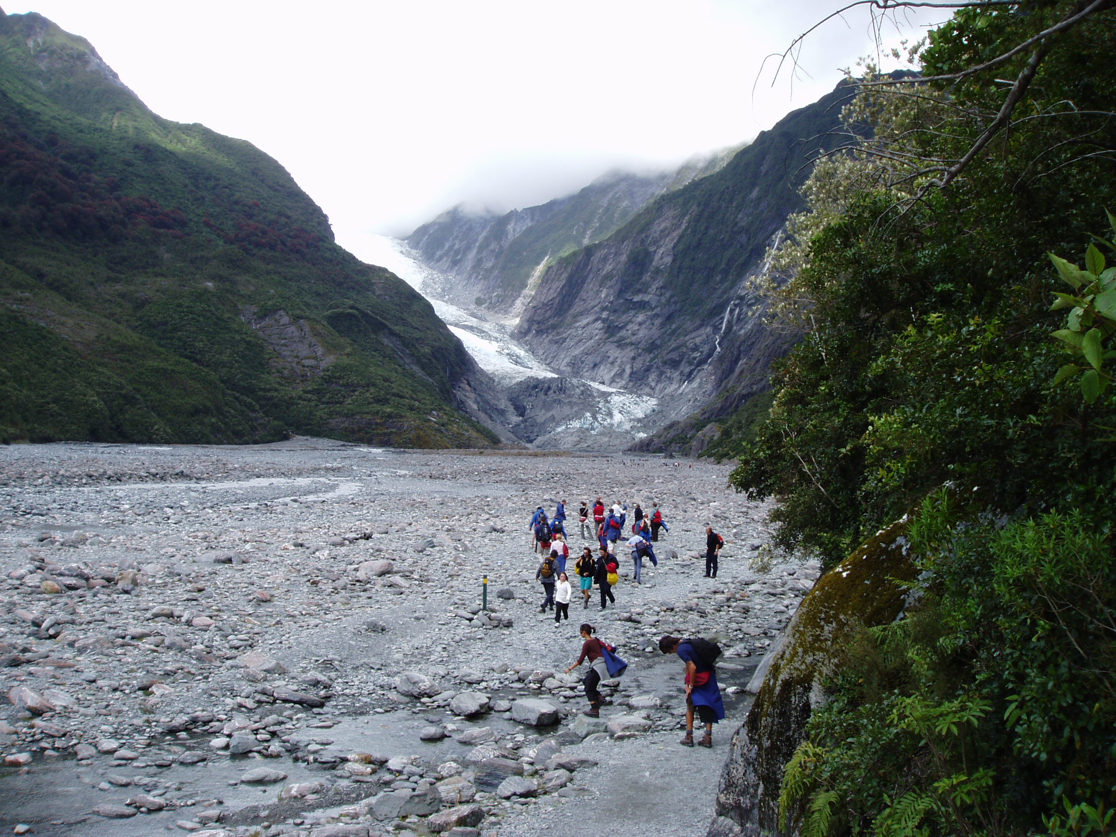 Heading for Franz Josef Glacier.
