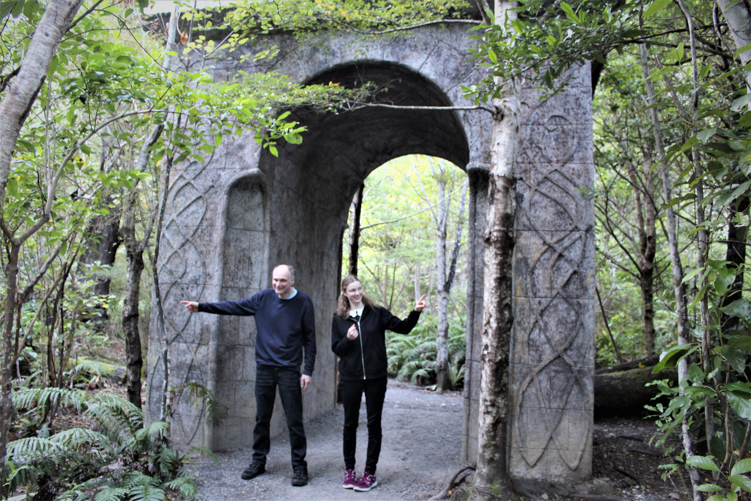 Archway Rivendell Henry and Freya pointing.jpg