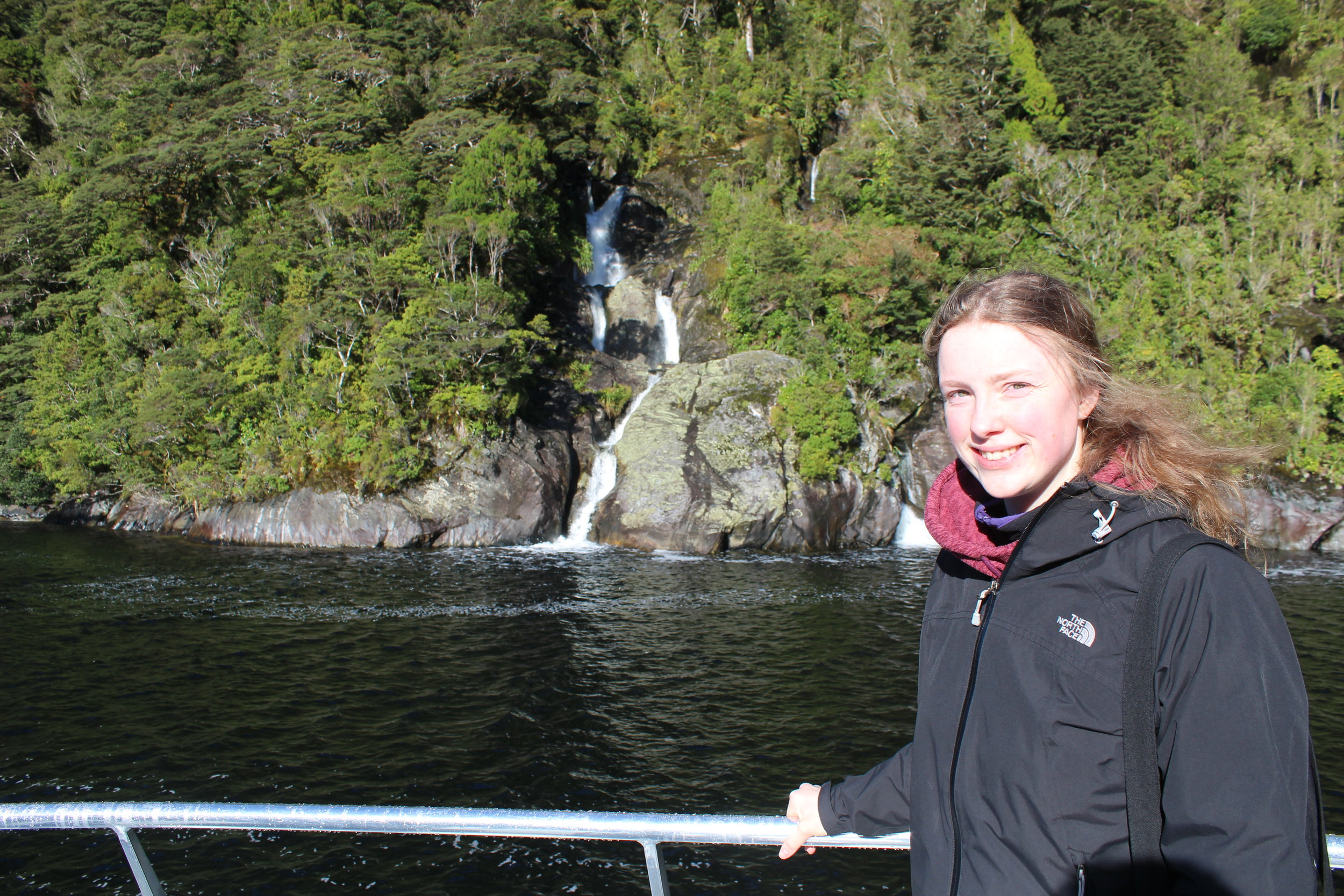 Freya, Doubtful Sound Cruise, 13 April, 2018.