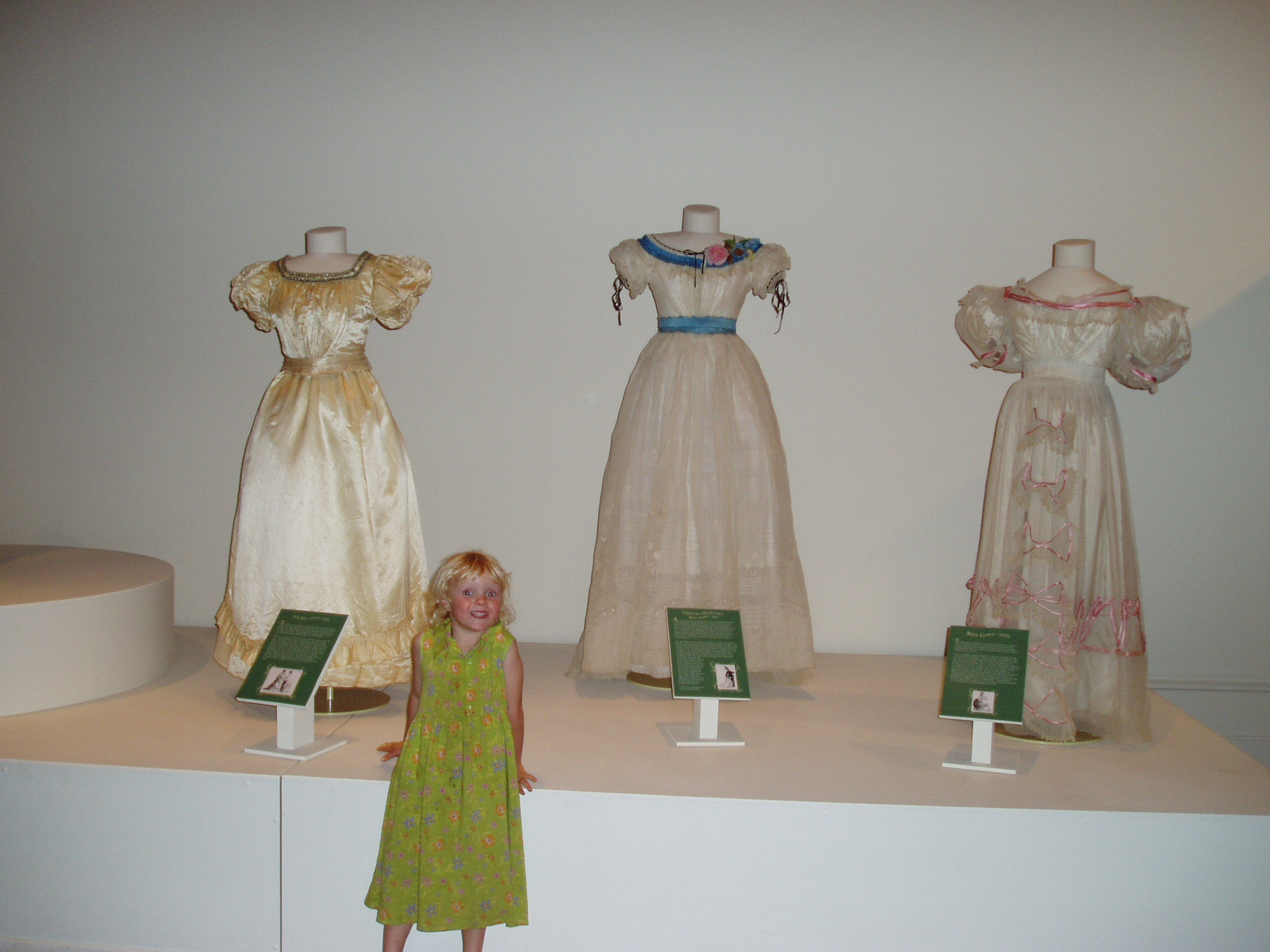 Pretty dresses in 2004