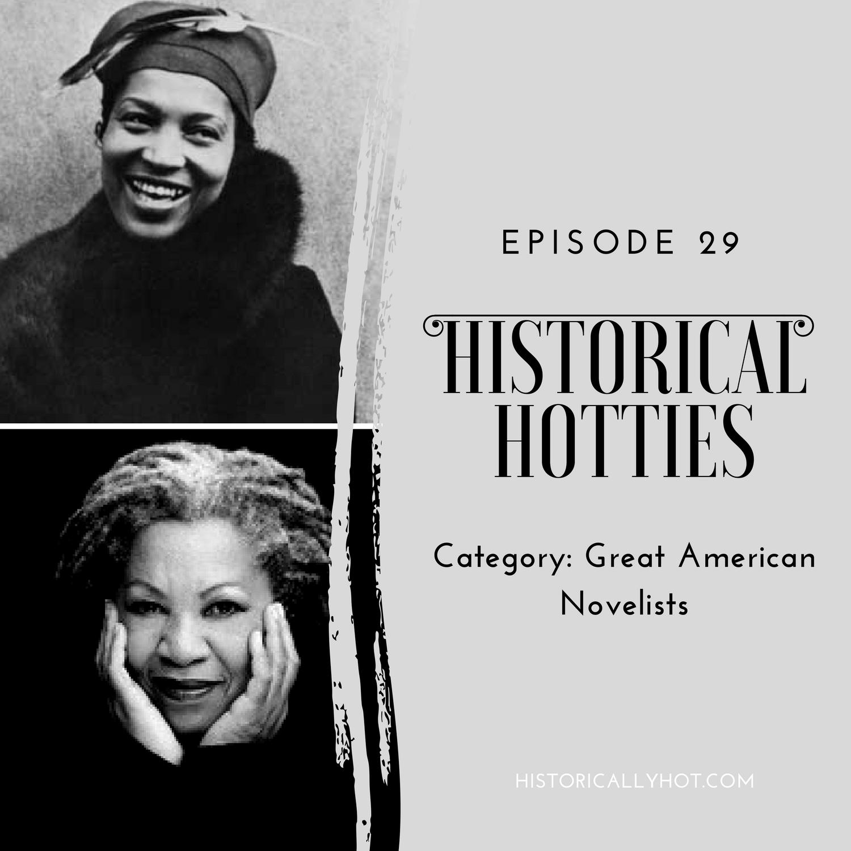 historical hotties American novelist