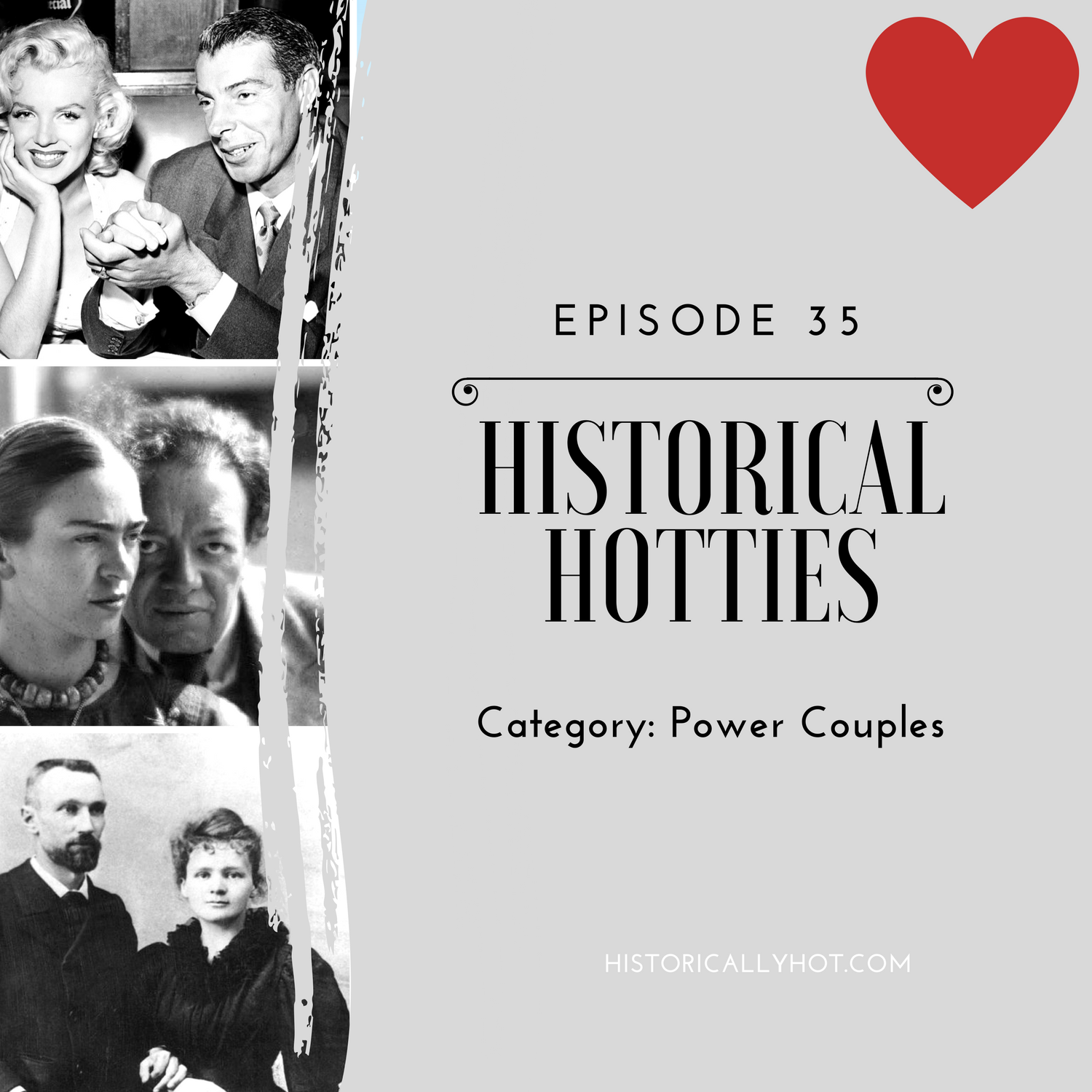 historical hotties power couples