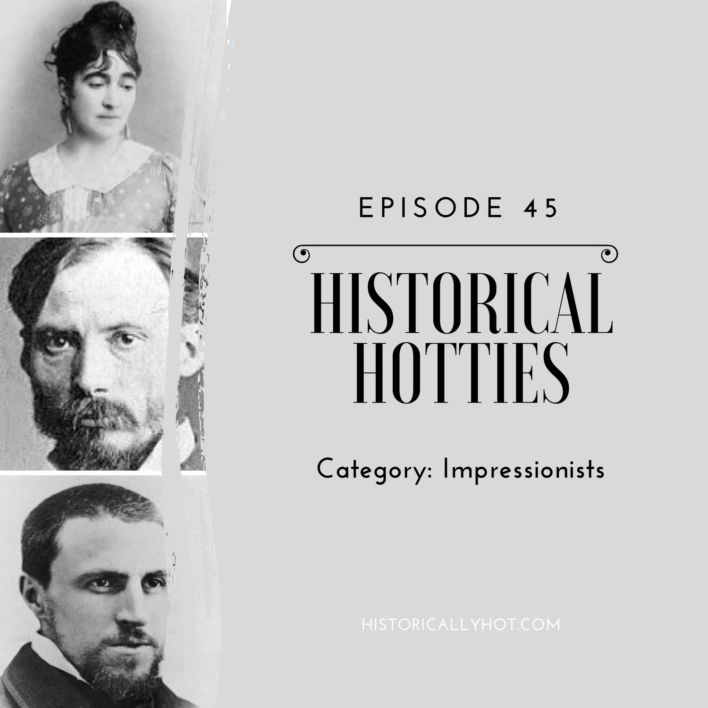 historical hotties impressionists