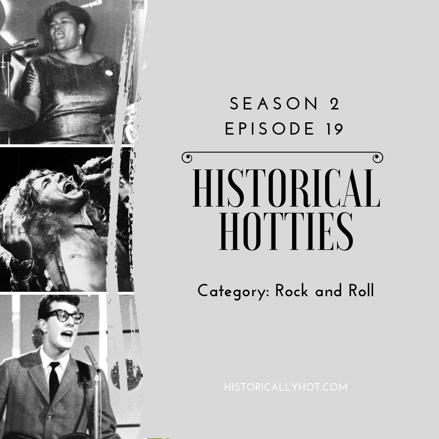 historical hotties rock and roll