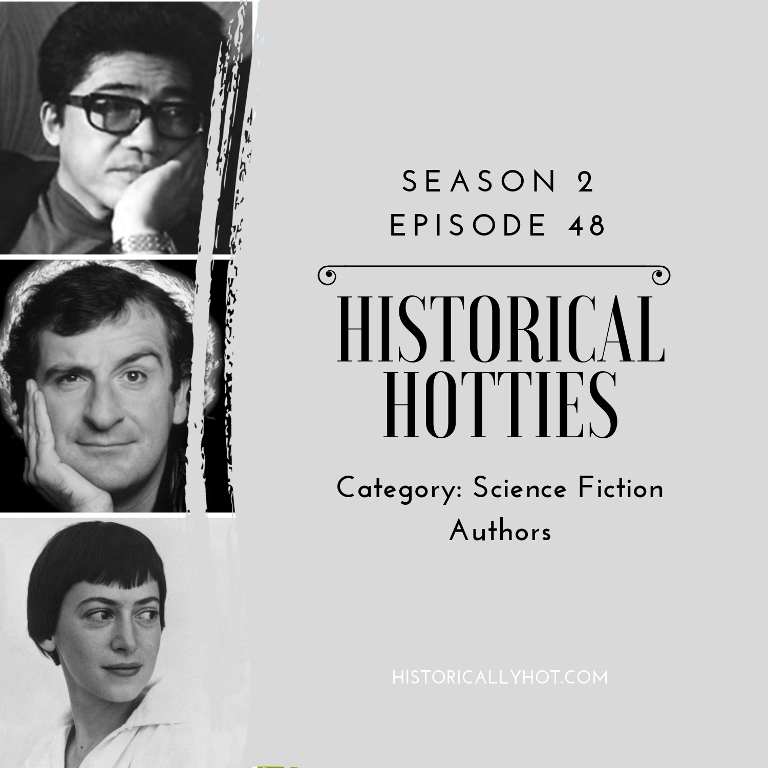 historical hotties sci fi authors