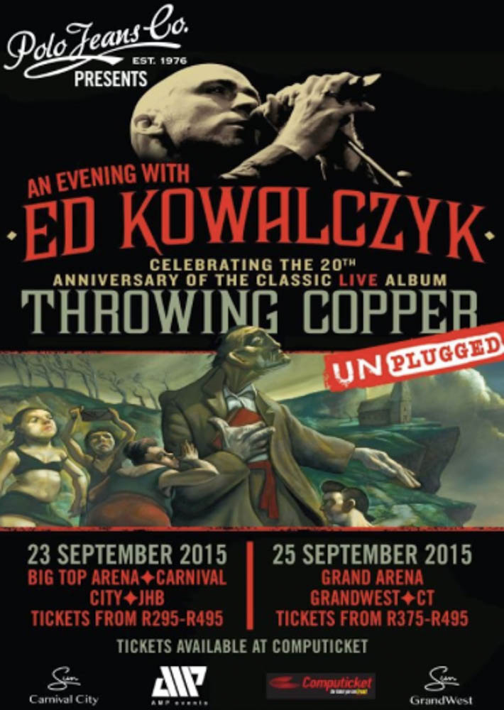 Ed Kowalczyk's Throwing Copper 20th Anniversary Tour