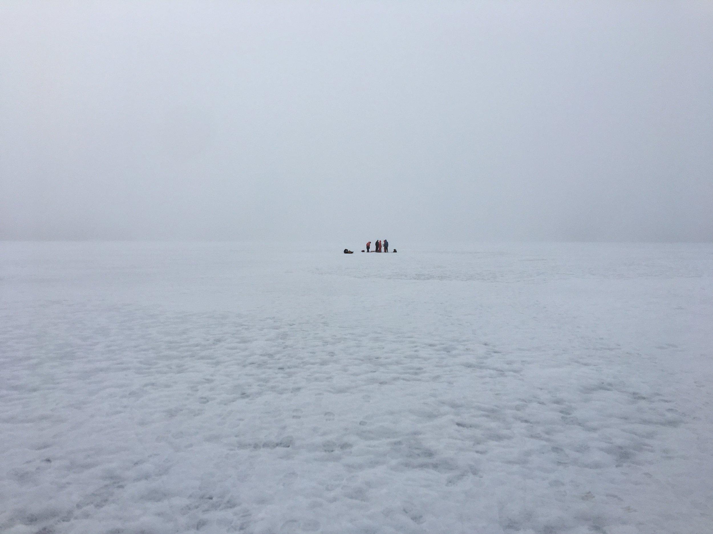Brrrr...Ward Hunt Lake 2017