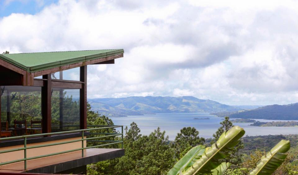 The view from our stay at  Arenal Observatory Lodge  in Costa Rica