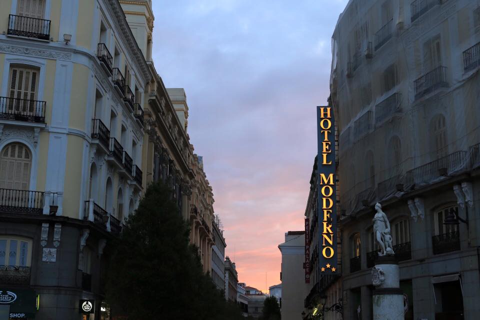 Hotel Moderno, Madrid, Spain