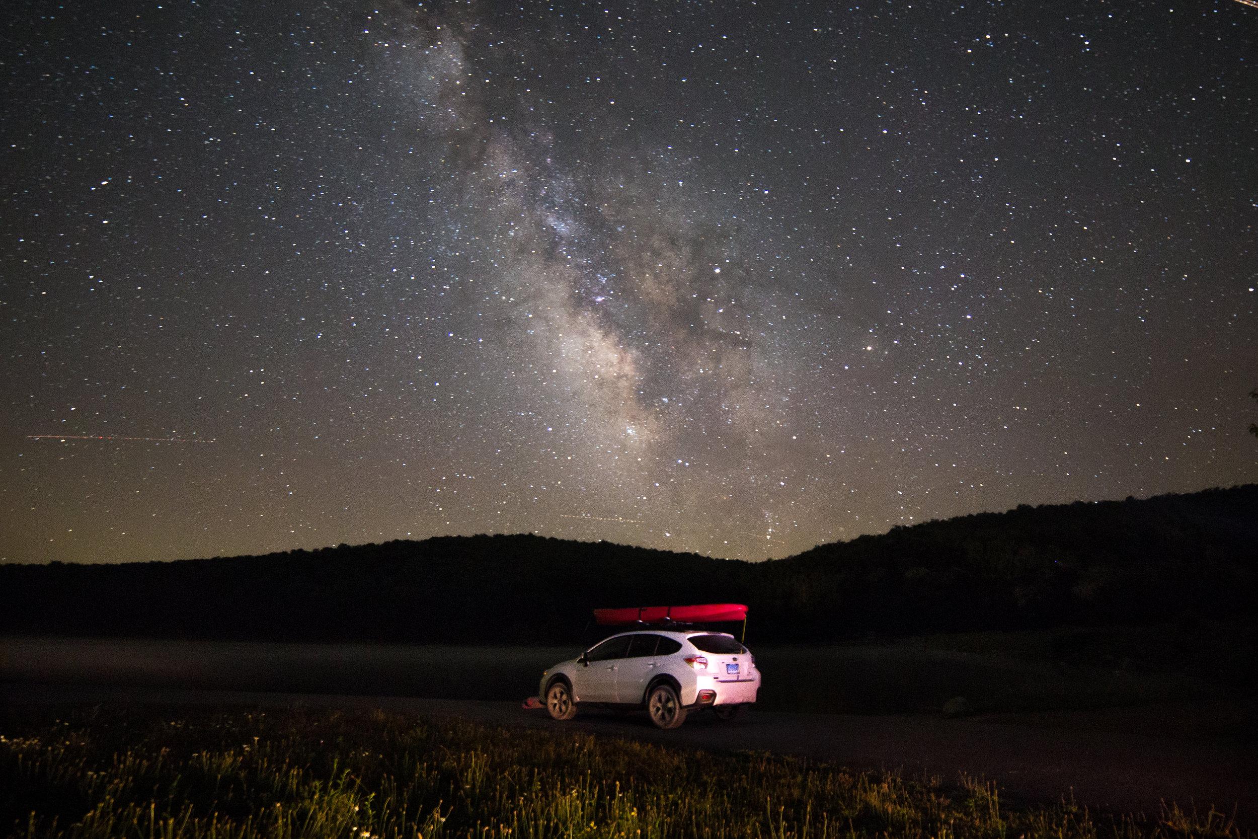 Road tripping in West Virginia