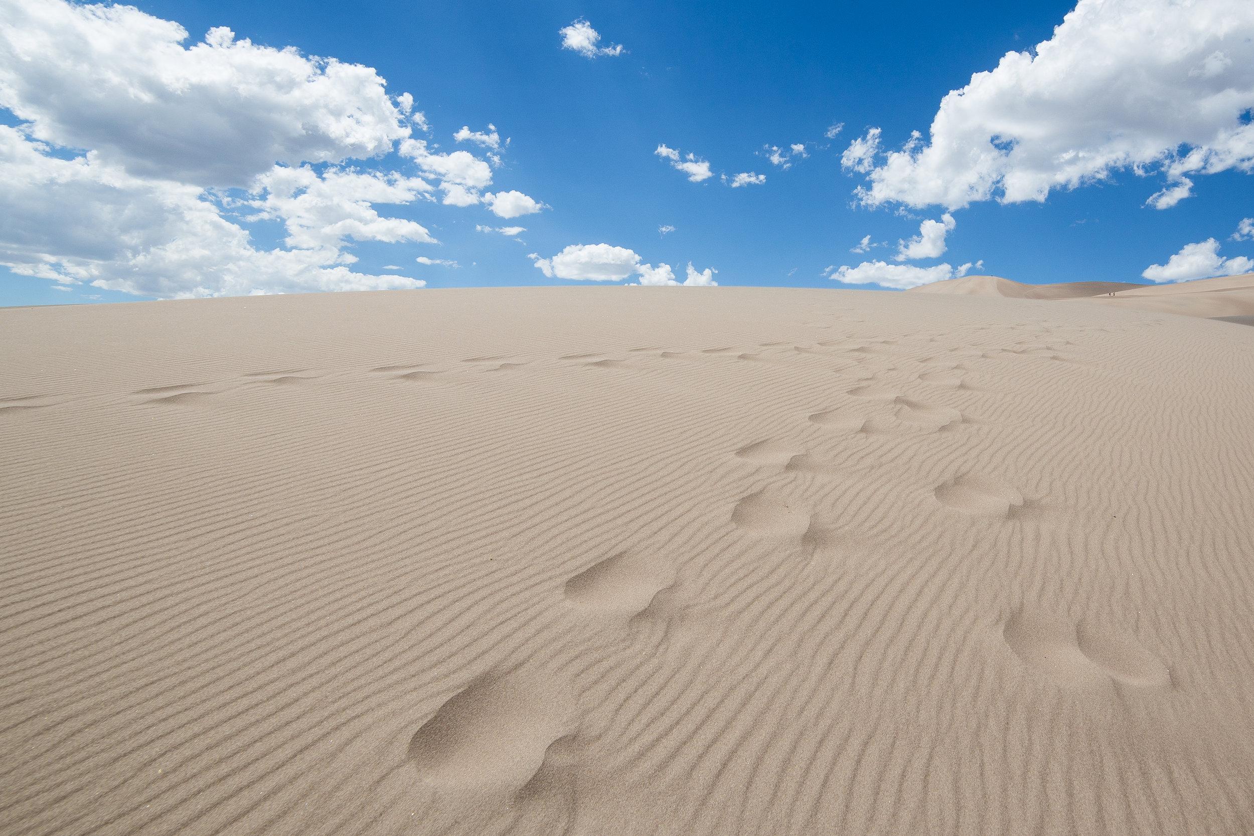 Desert in the sky, Great Sand Dunes National Park