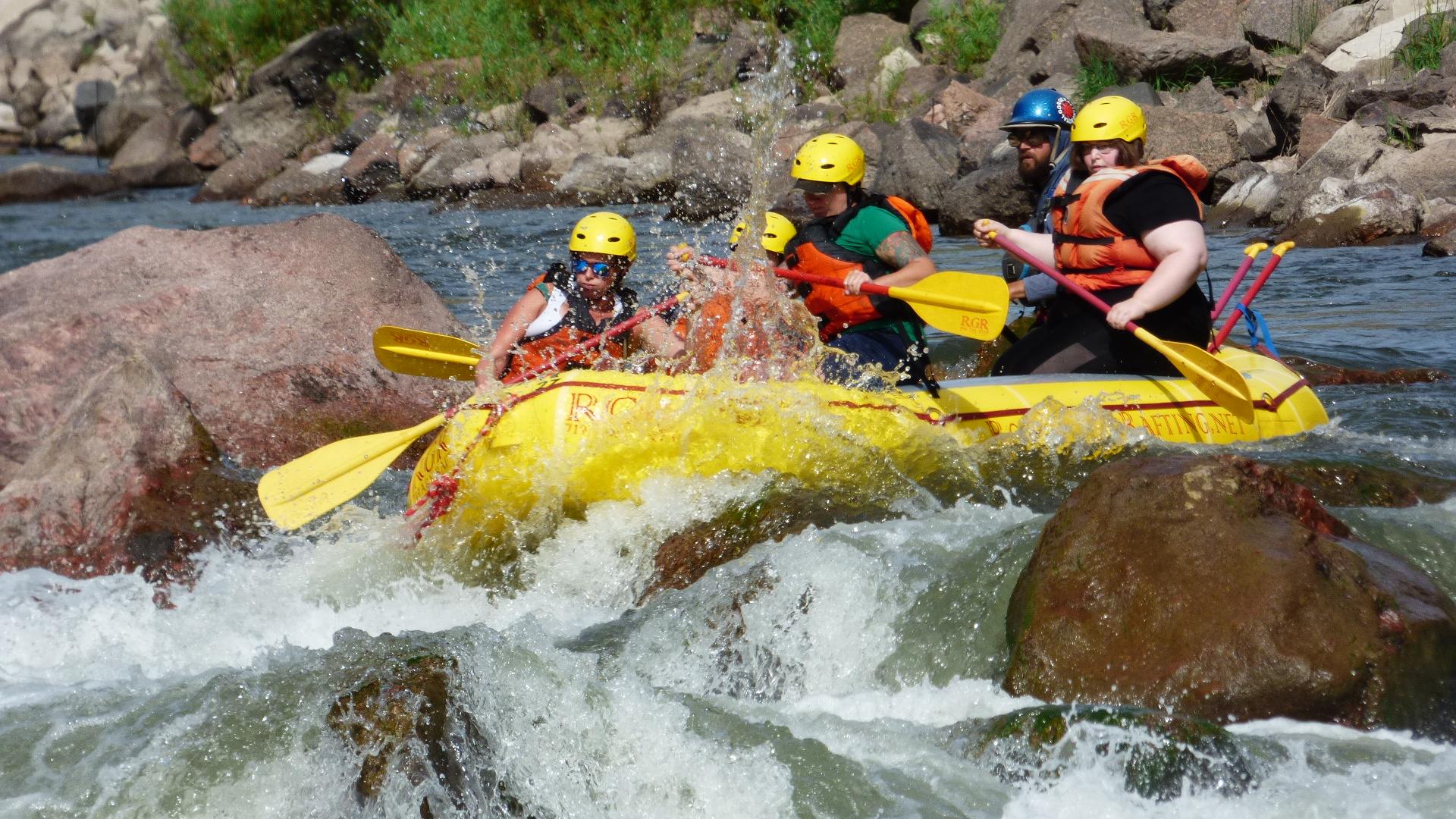Photo courtesy of Royal Gorge Rafting