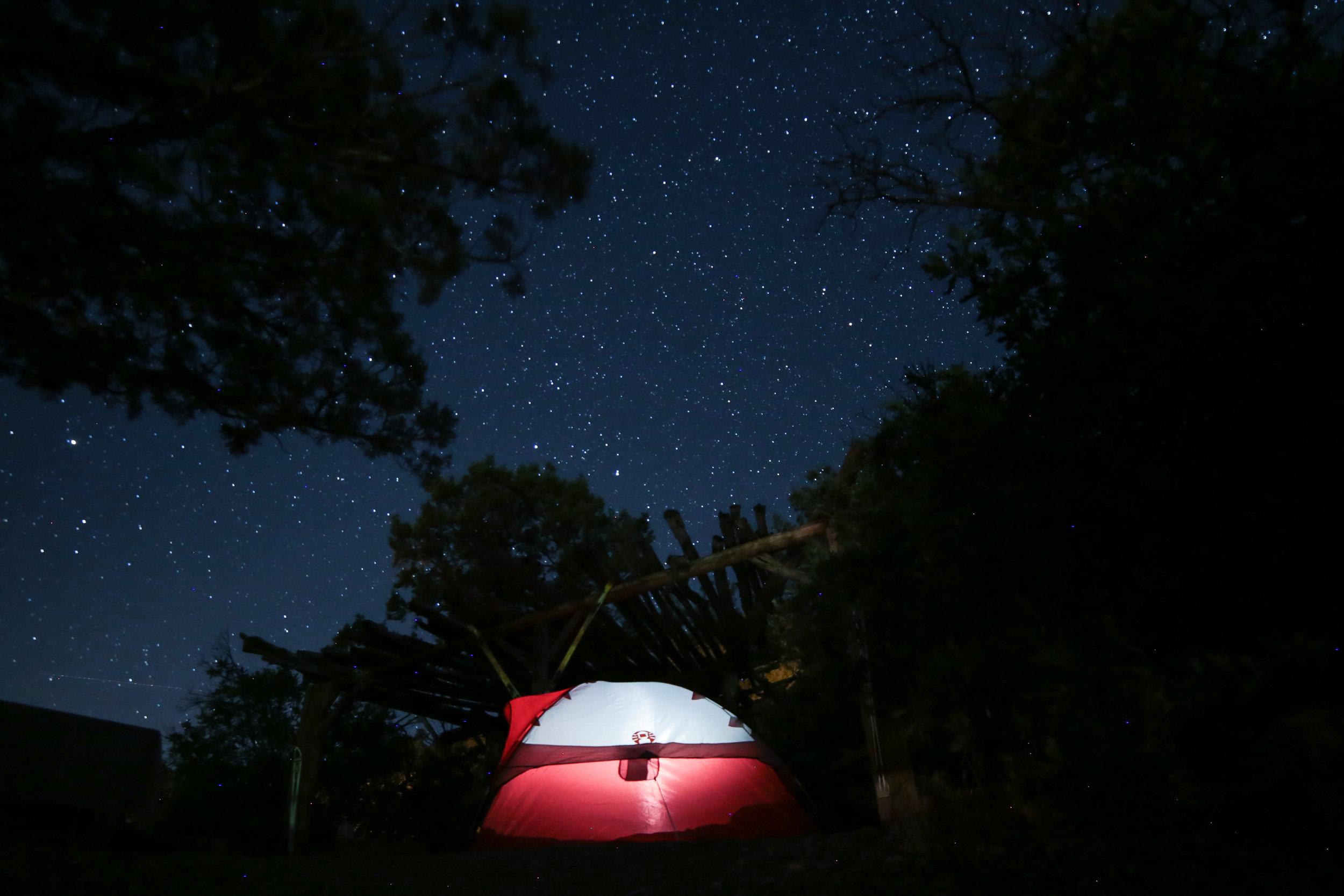 Camping at Ami's Acres