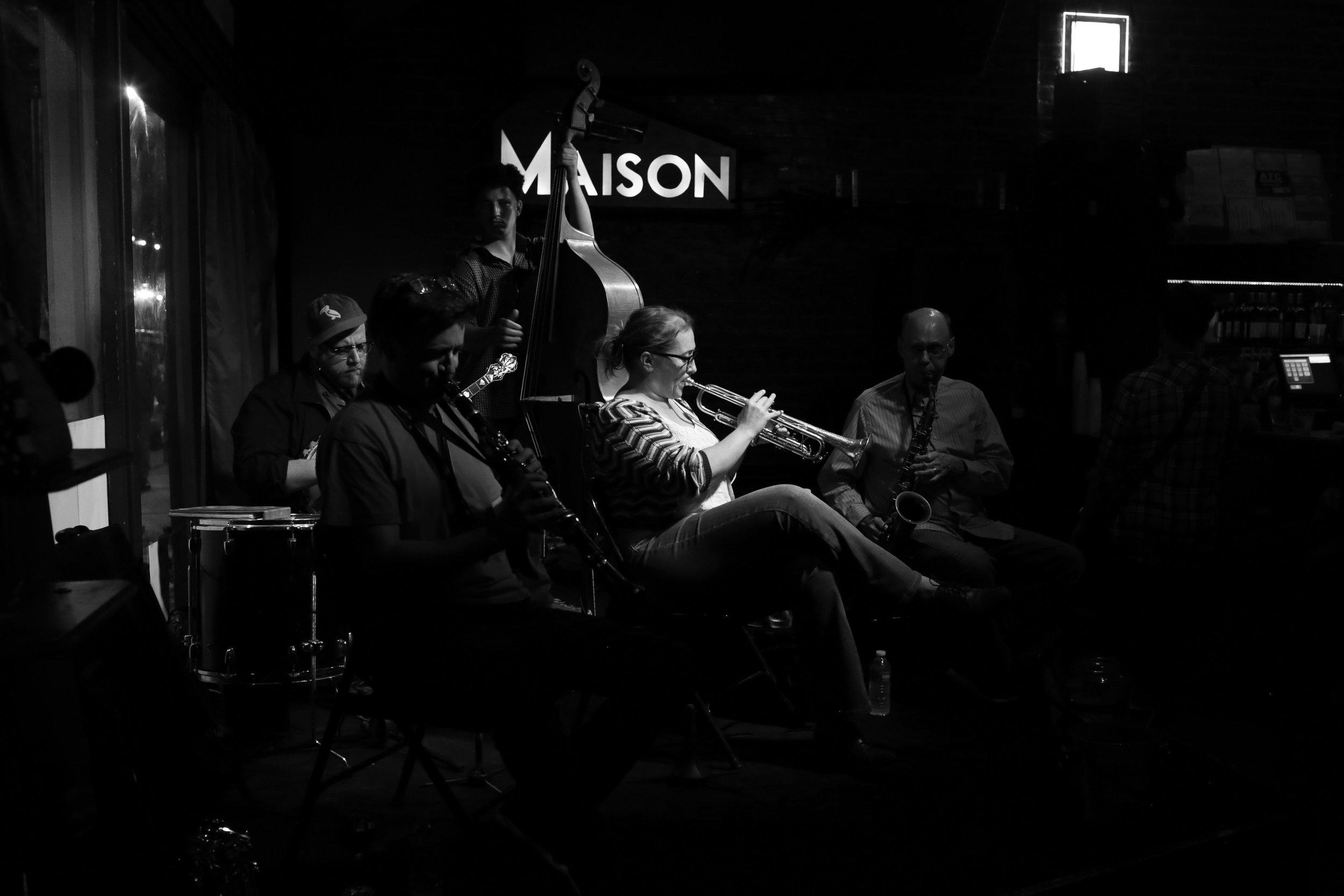 The Shotgun Jazz Band  at  The Maison