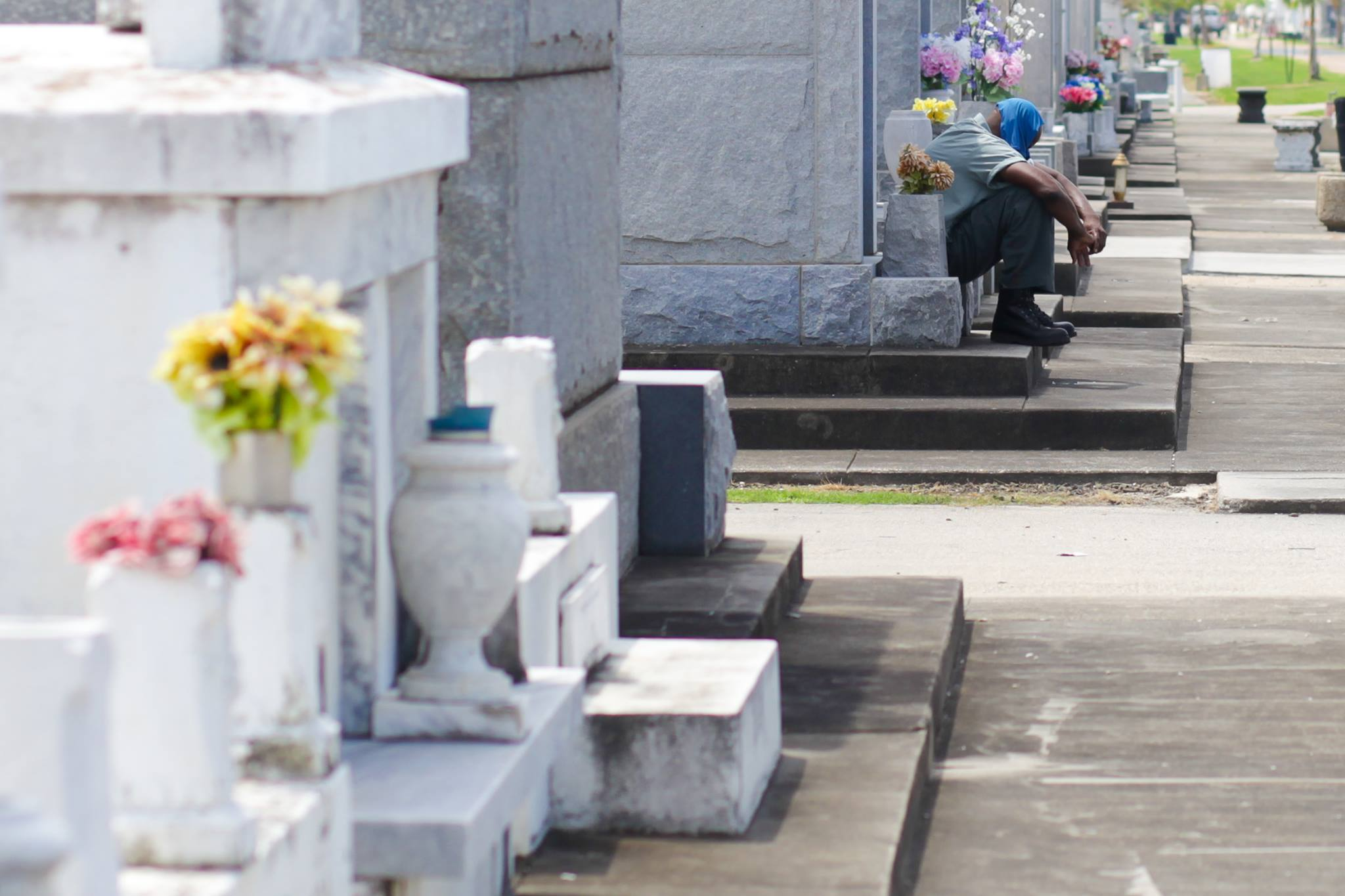 A quiet moment in St Louis Cemetery #3