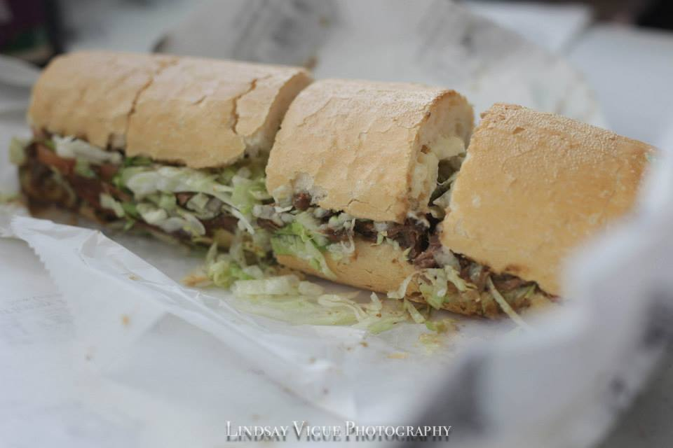 Roast beef Po' Boy from Parkway