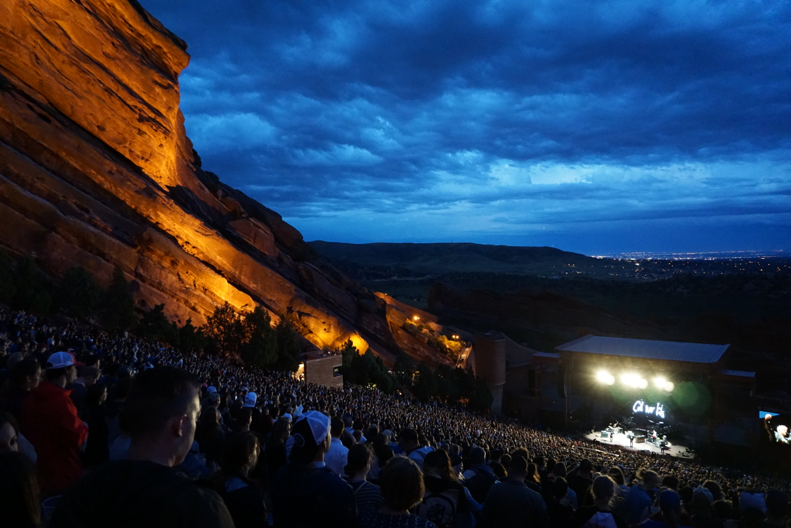 Cold War Kids at Red Rock, Morrison, CO