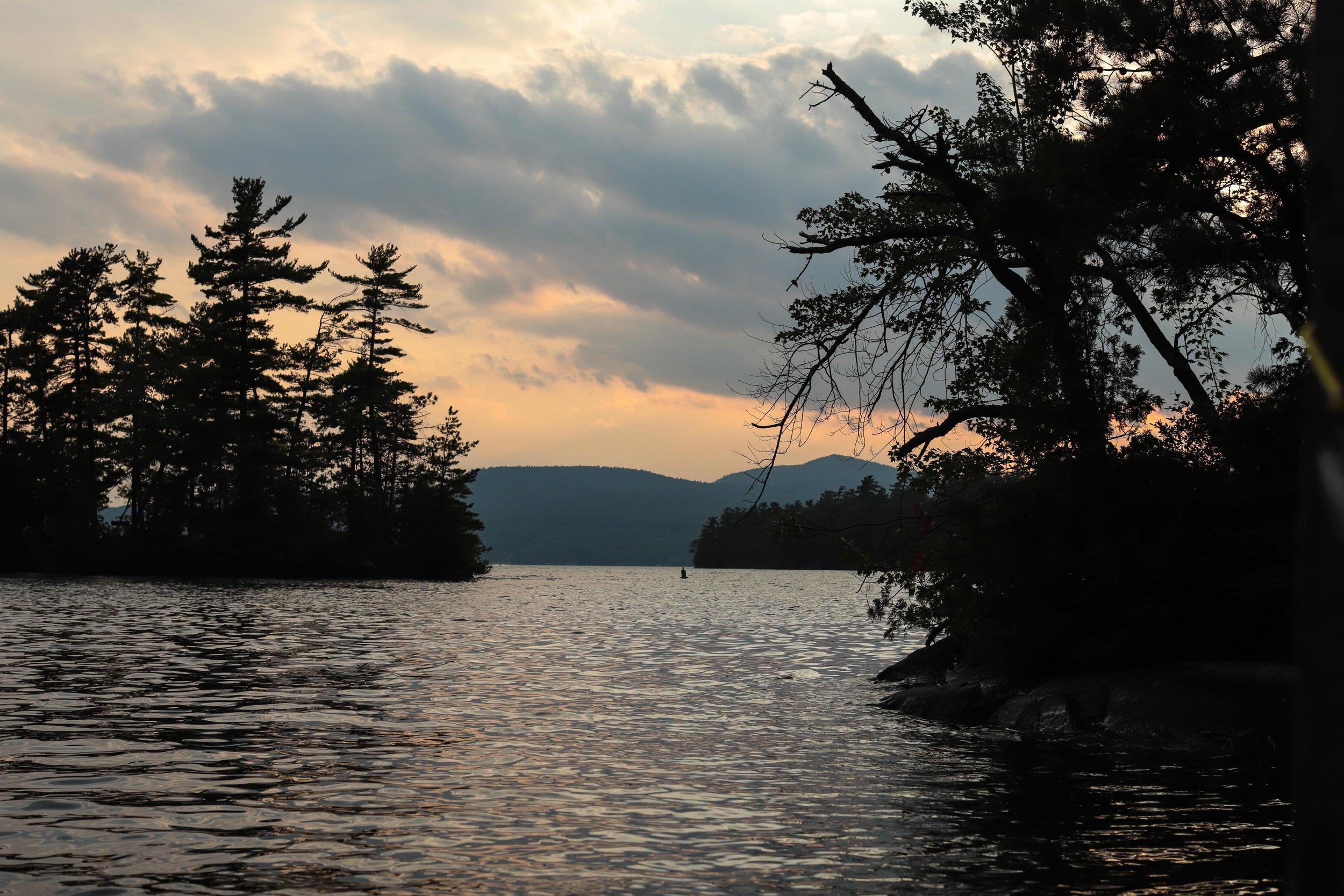 Glen Island group on Lake George