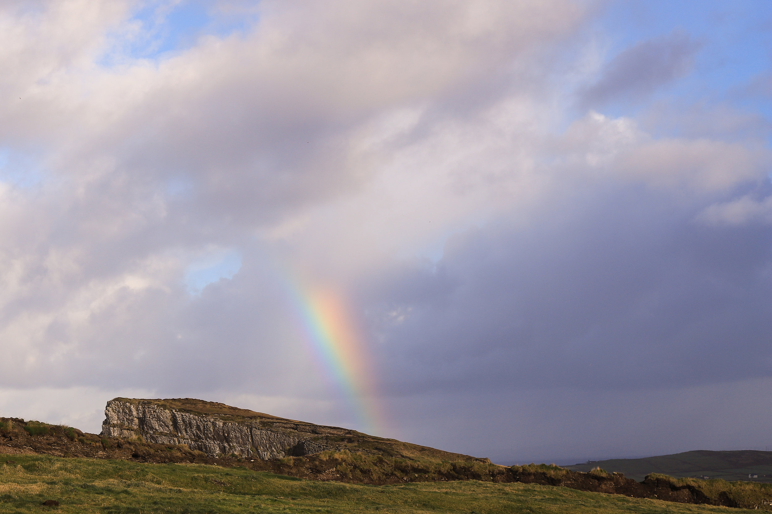 One of the many rainbows we saw in Ireland