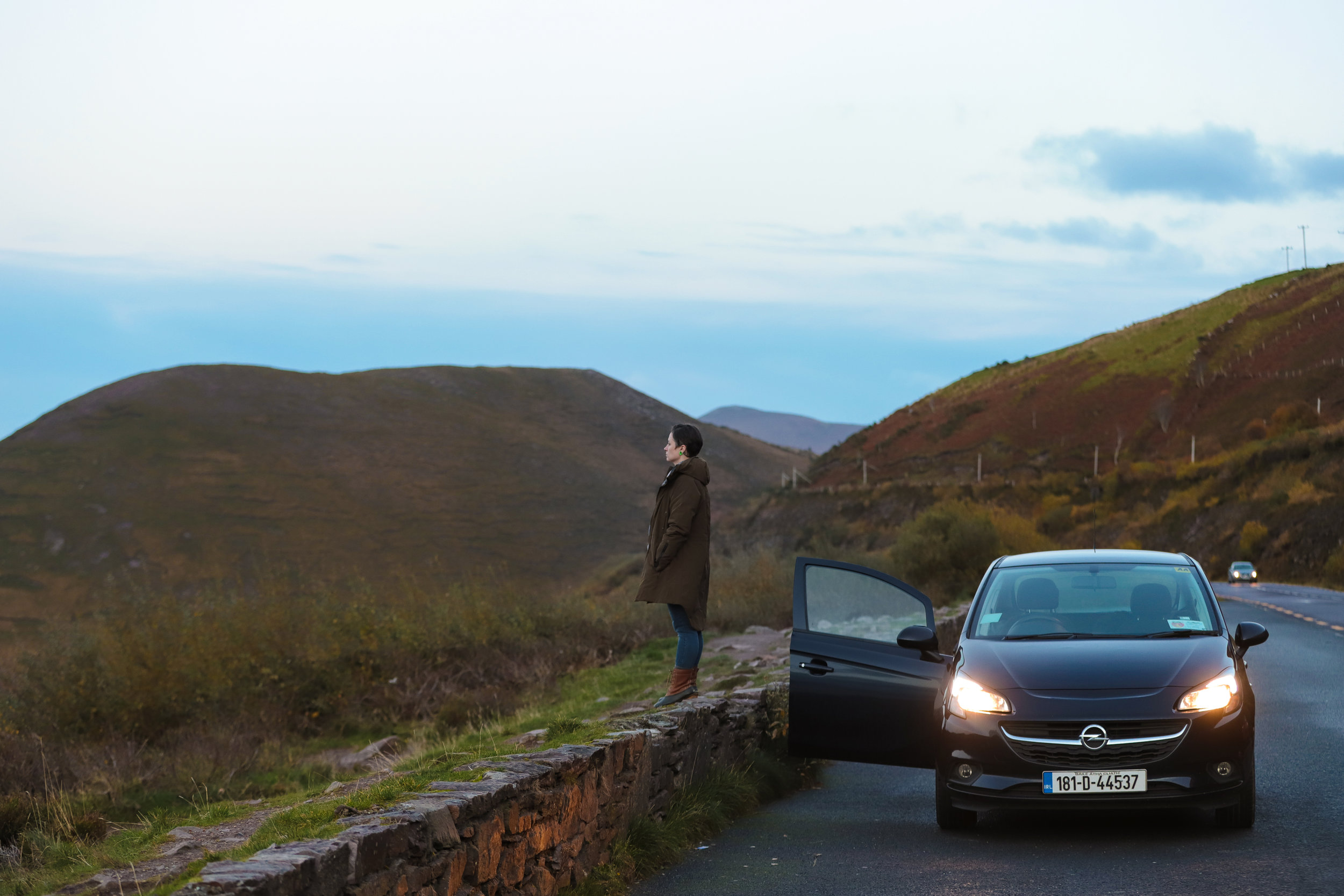 Stopping off the Ring of Kerry