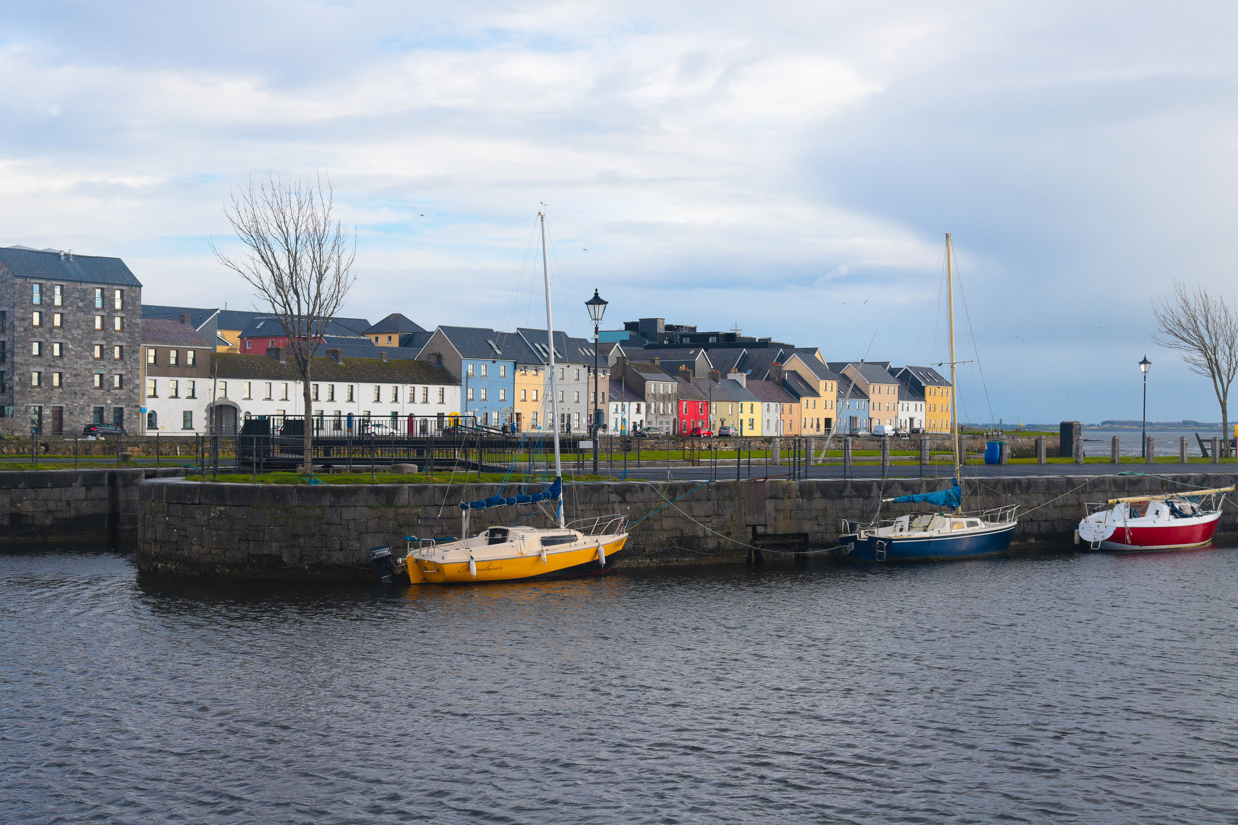 The docks in Galway