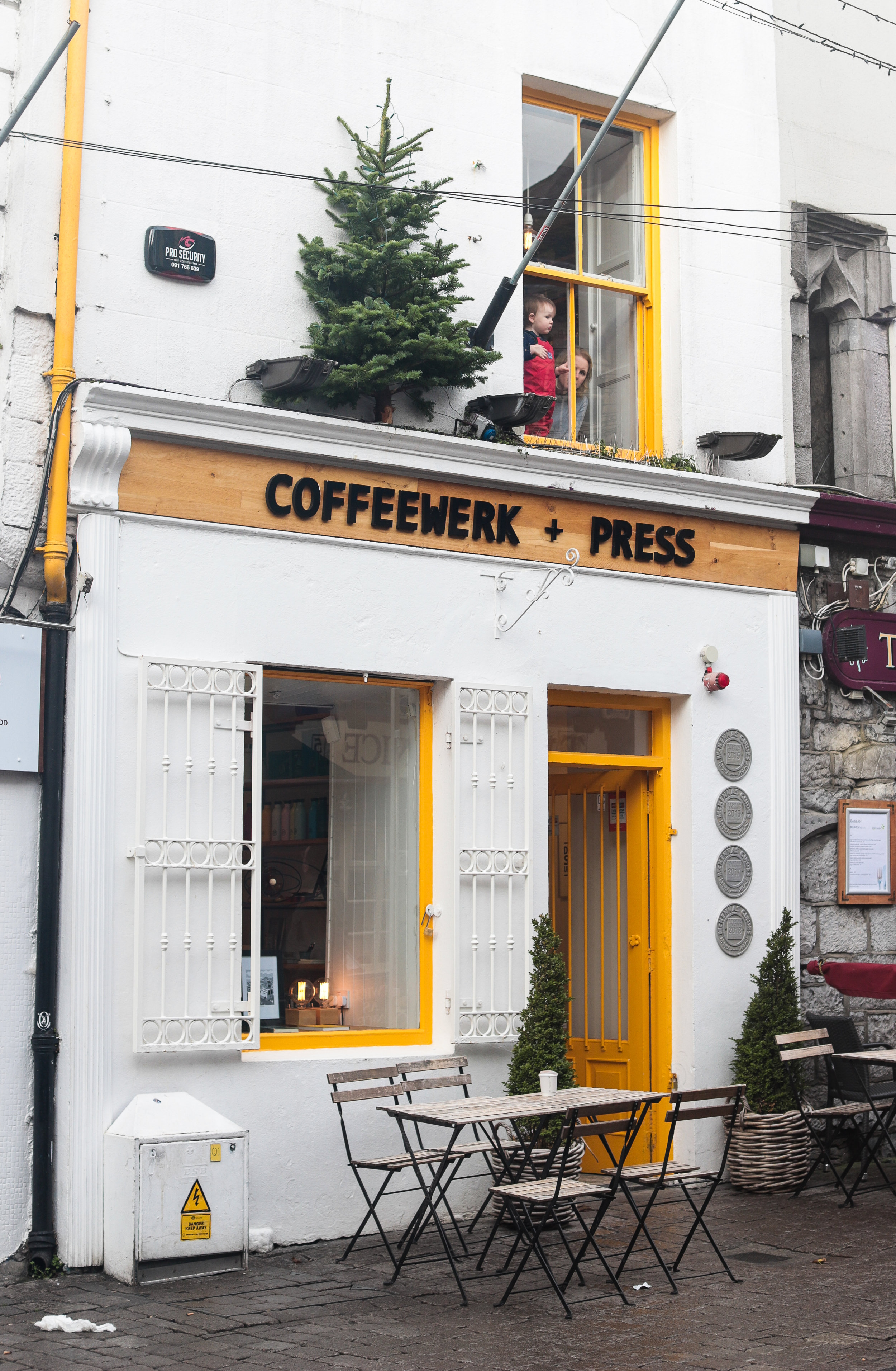 Coffee shop in Galway