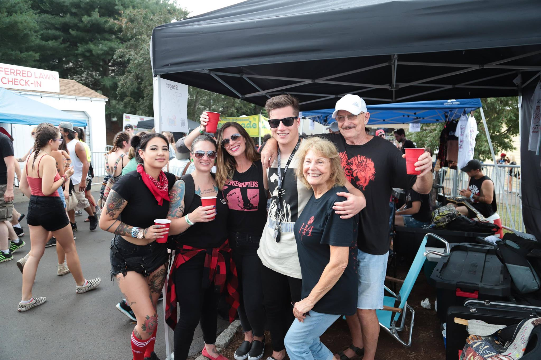 Warped Tour with family