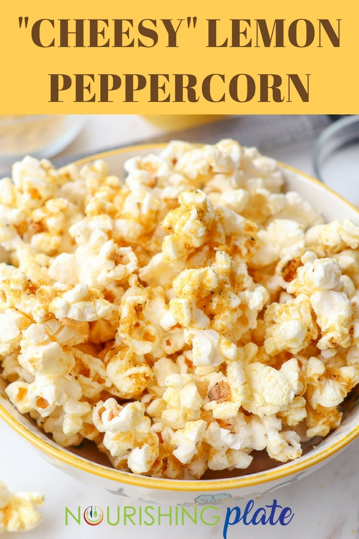 """Cheesy"" Lemon Peppercorn"
