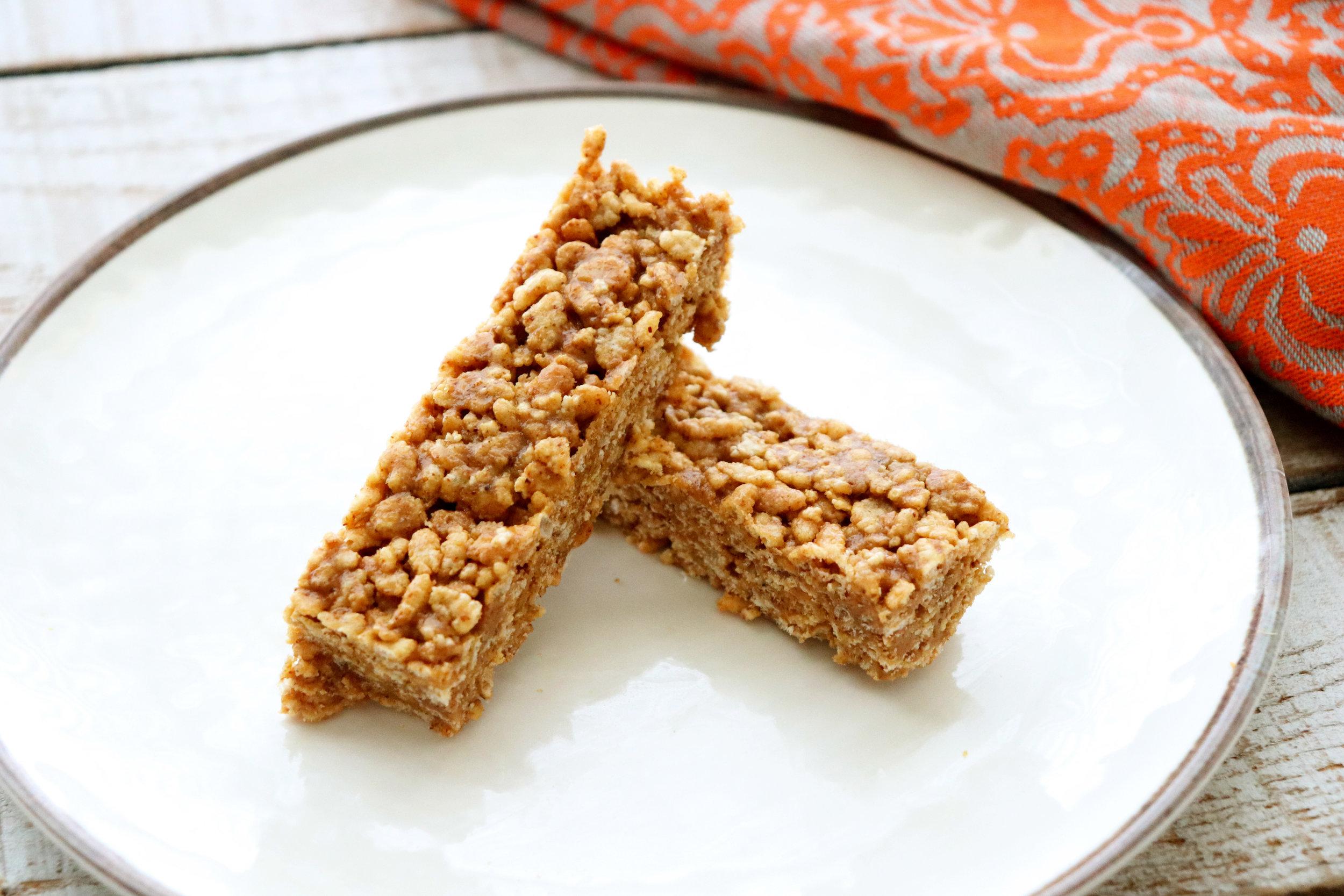 Almond Flax Crispy Treats