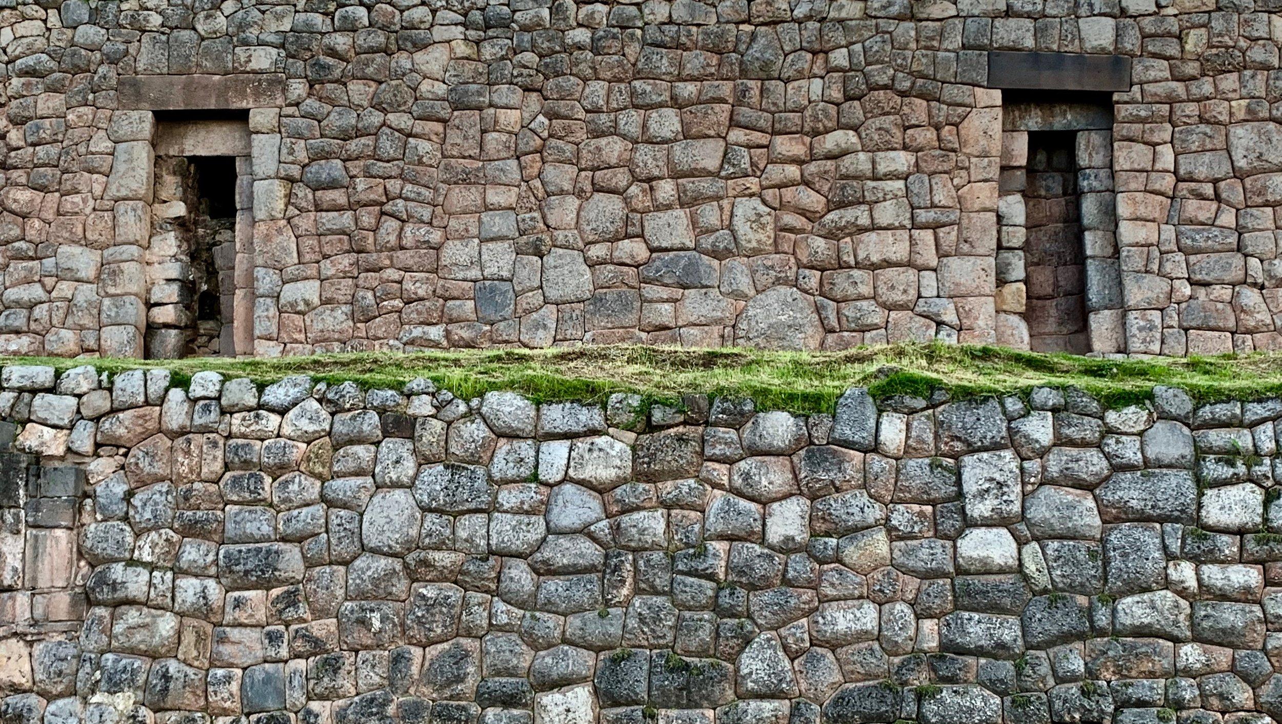 Classic Inca style stonework