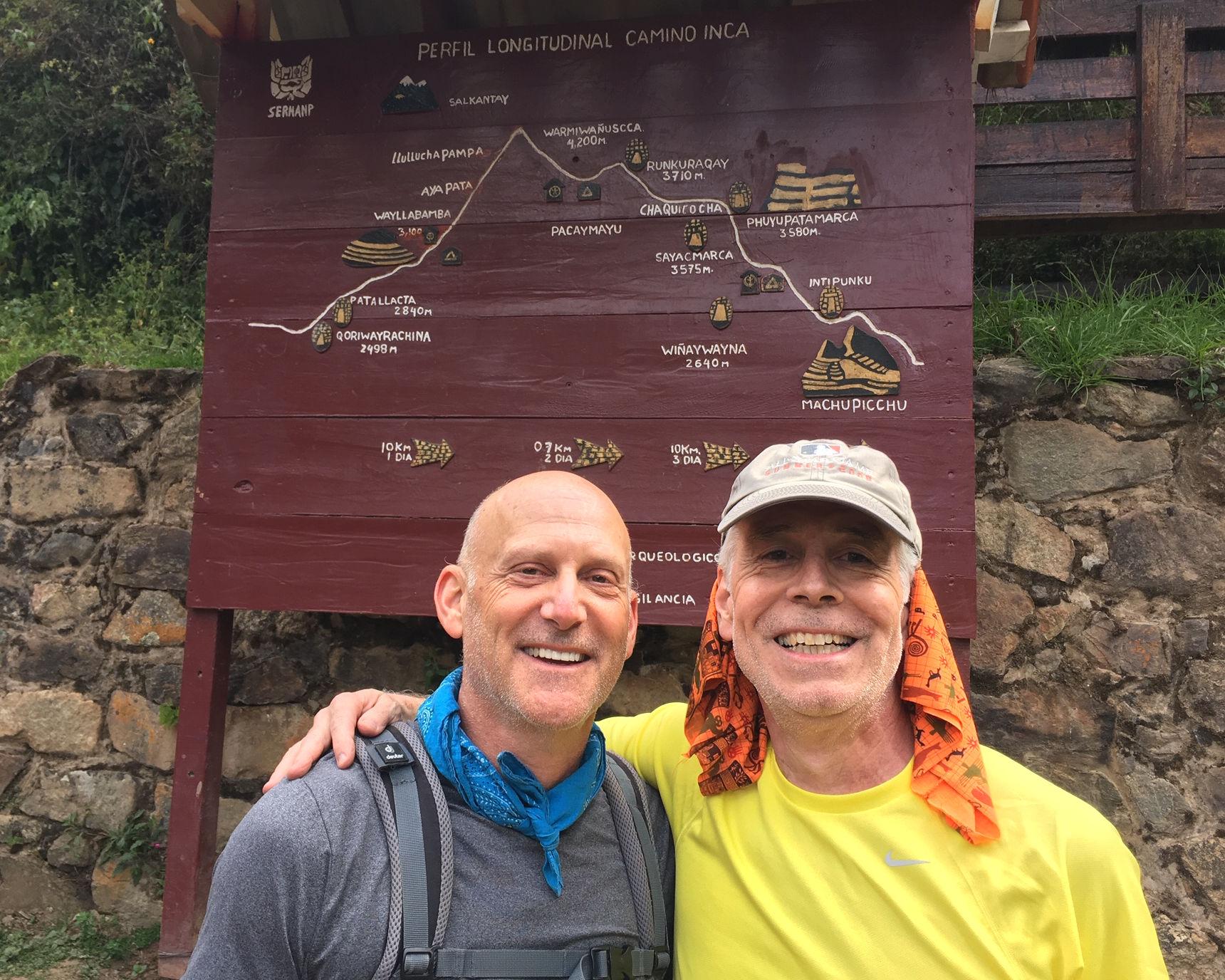 Bob & Paul with trail sign .jpg