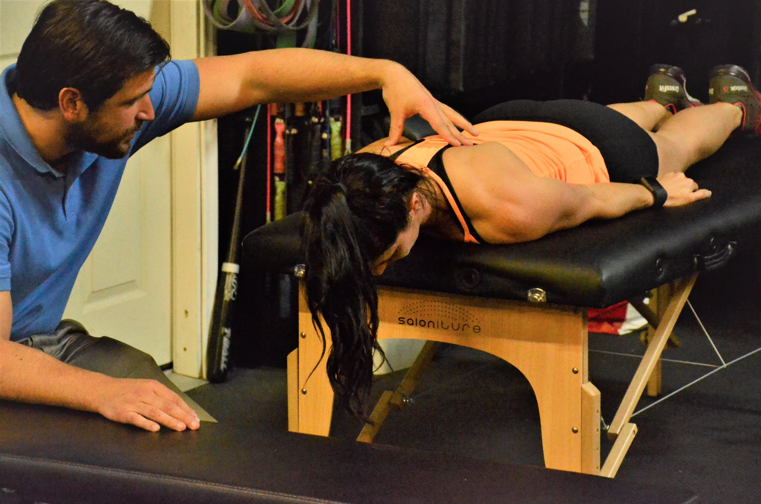 Mobile Physical Therapy In A Crossfit Gym