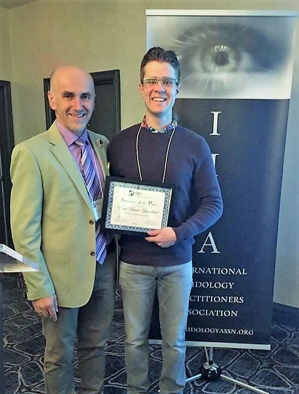 IIPA 2017 Instructor of the Year, Emil Bewo-Lundblad!